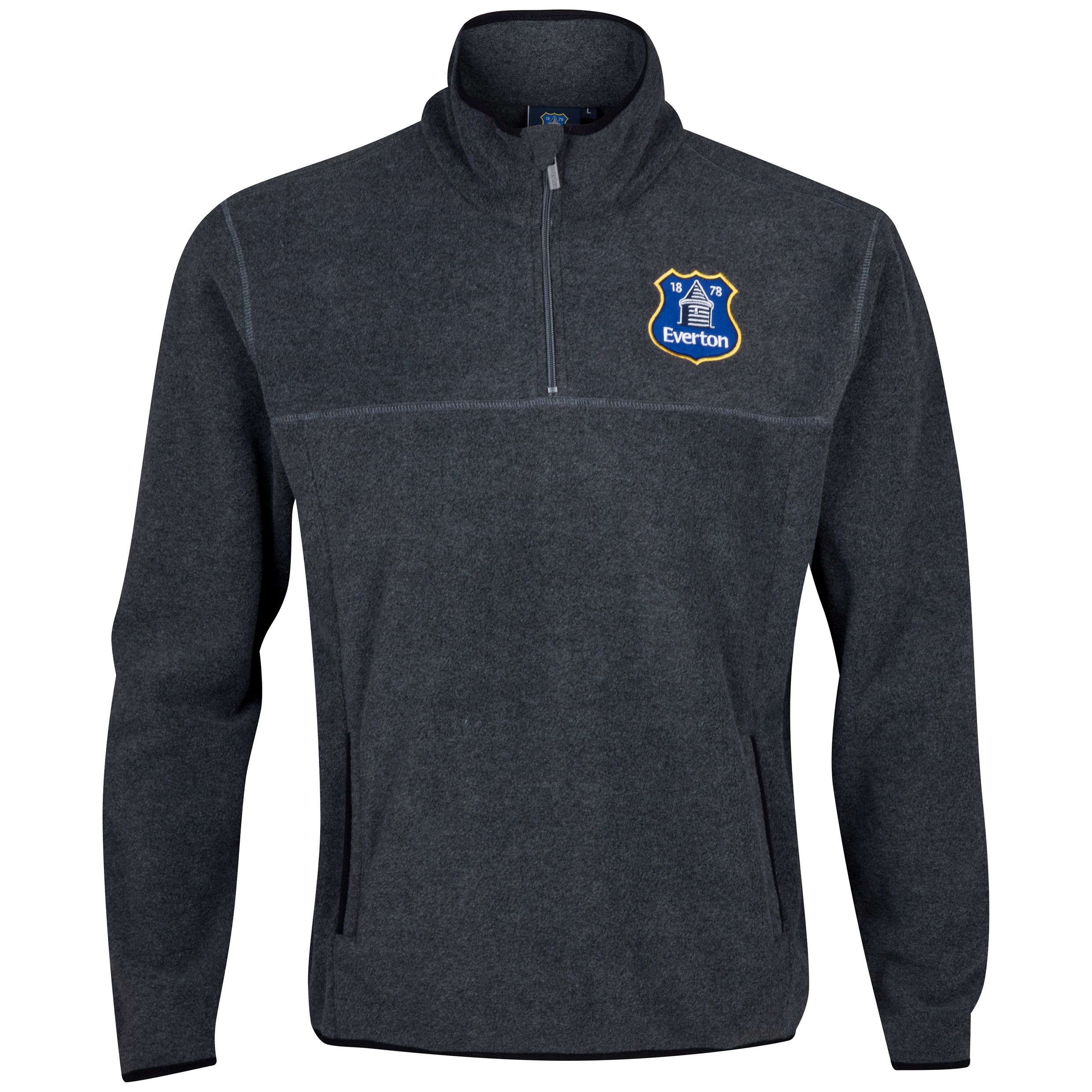 Everton Essentials Woods Fleece - Mens Charcoal