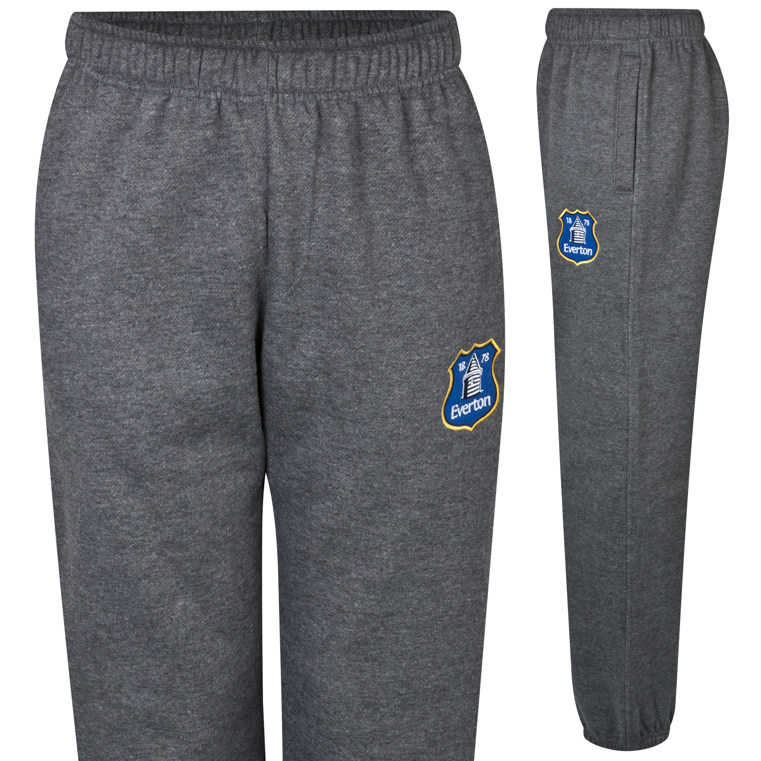 Everton Essentials Strike Pants - Older Boys Charcoal
