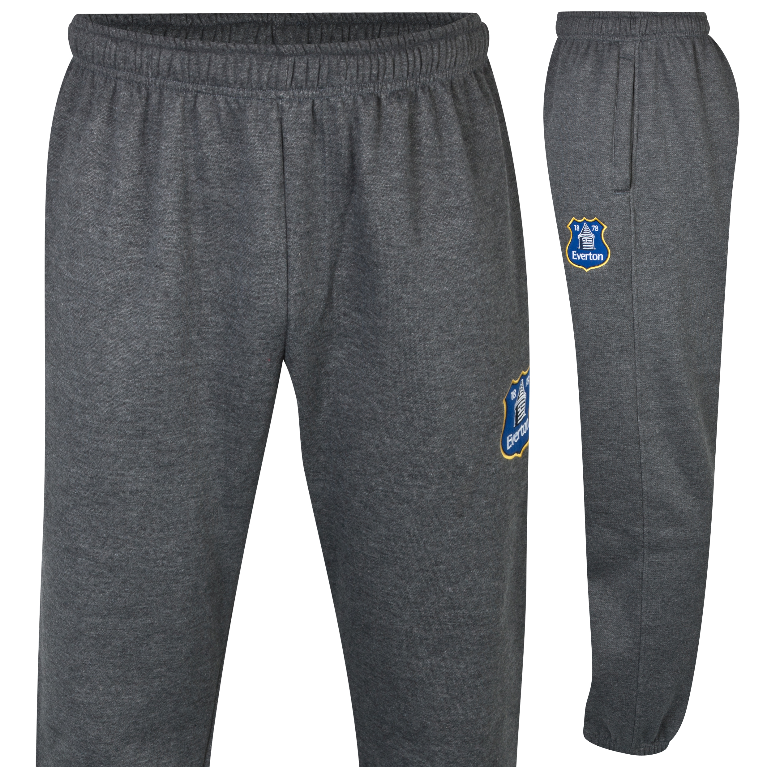 Everton Essentials Strike Pants - Mens Charcoal