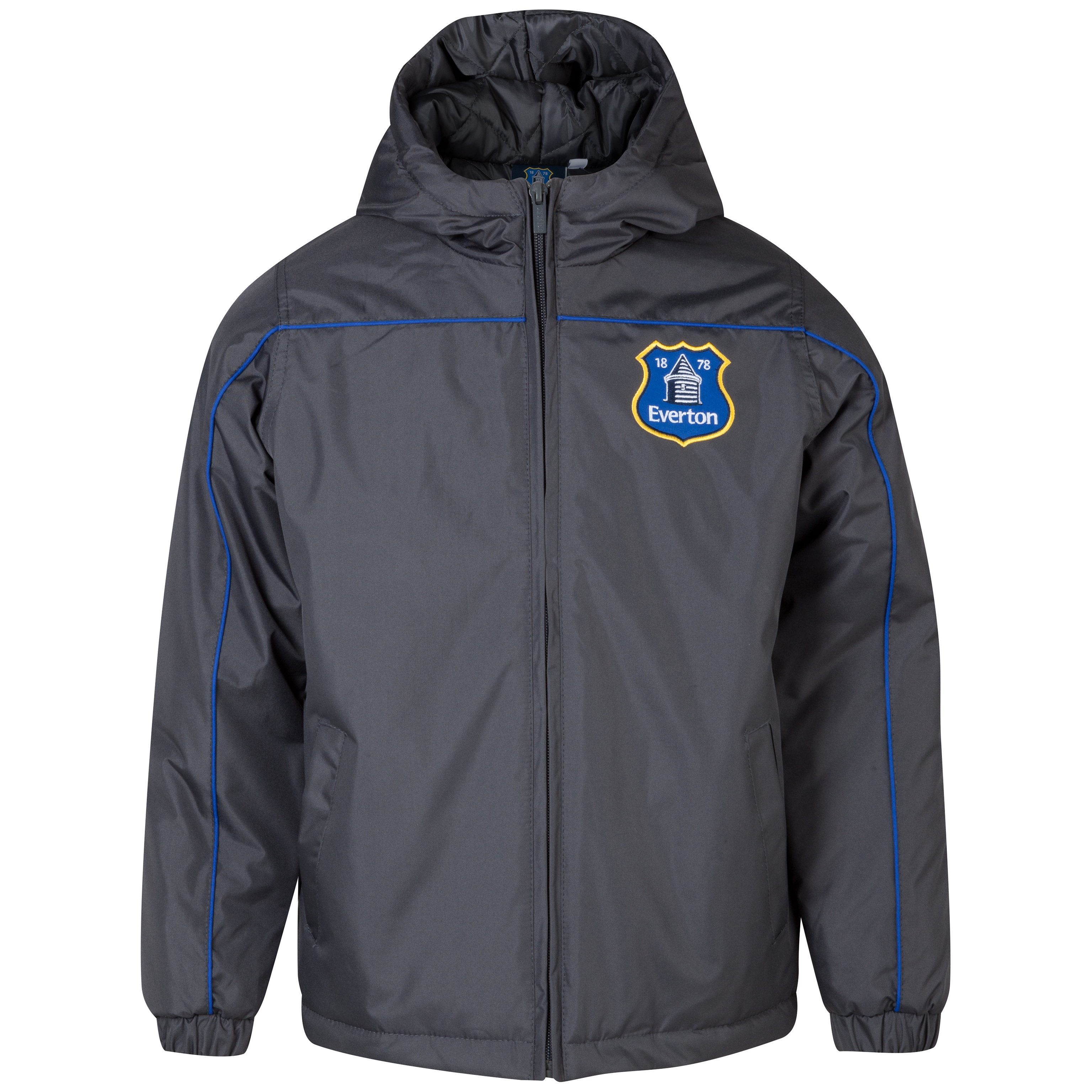 Everton Essentials Defence Coat - Older Boys Dk Grey