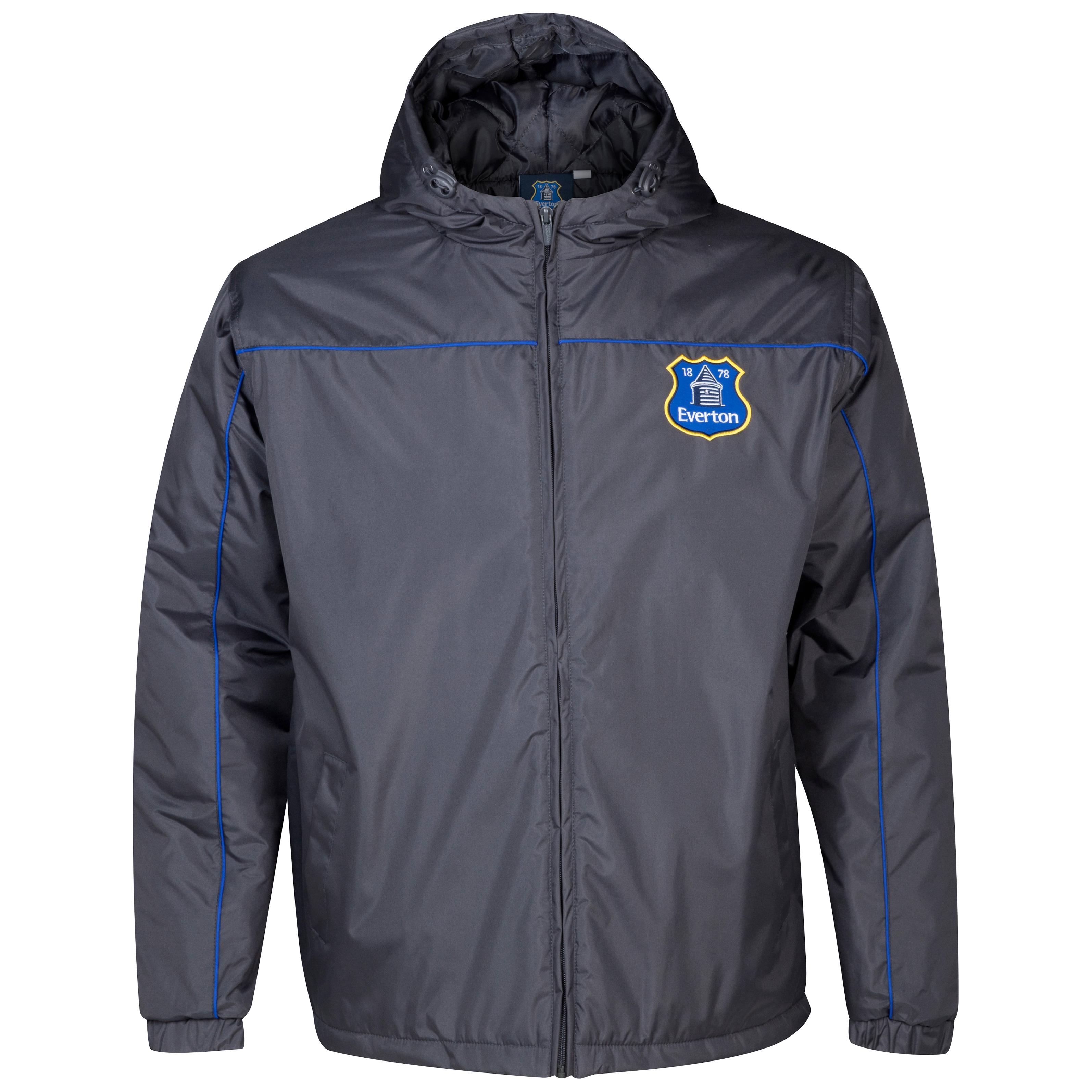 Everton Essentials Defence Coat - Mens Dk Grey