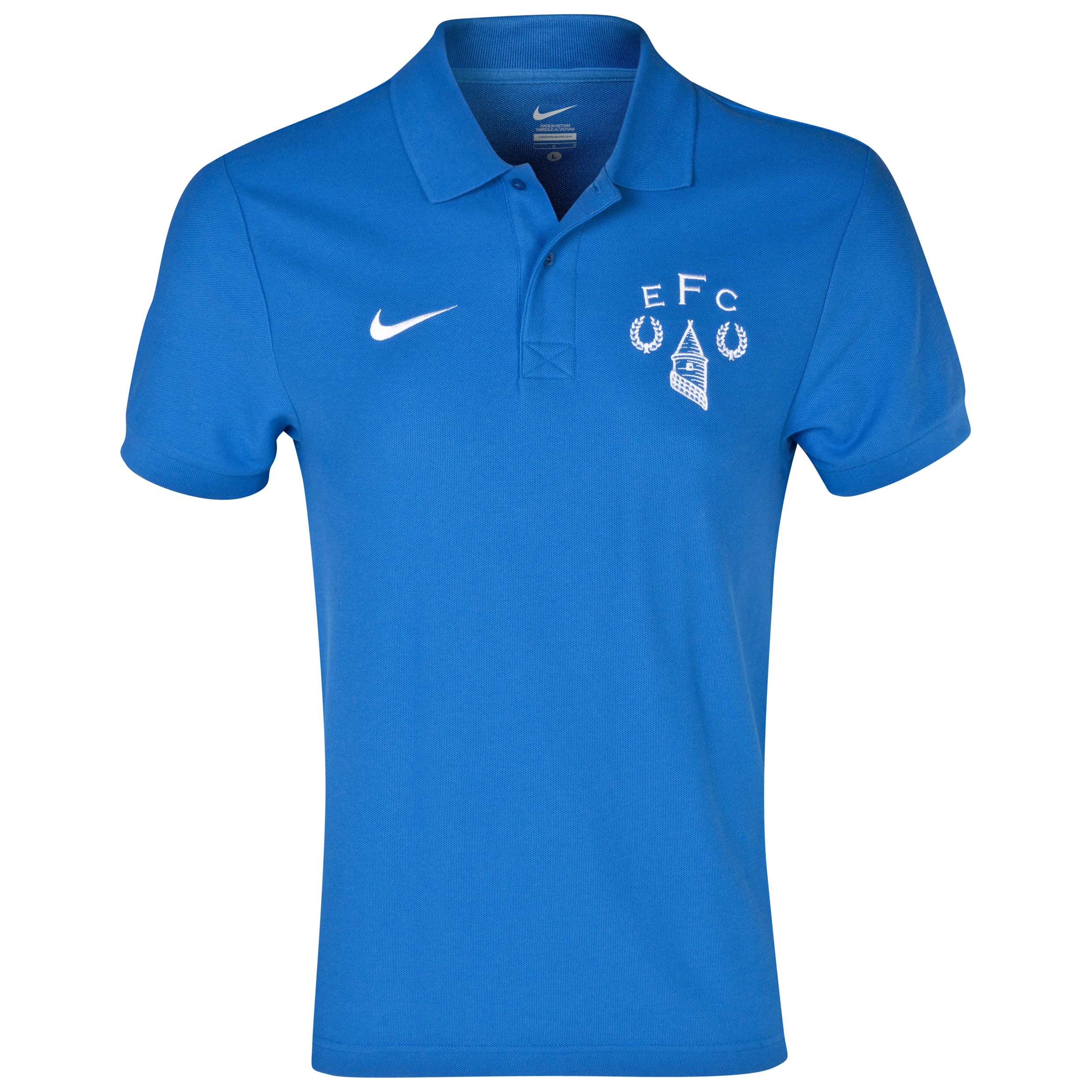 Everton Heritage Polo Shirt Royal Blue