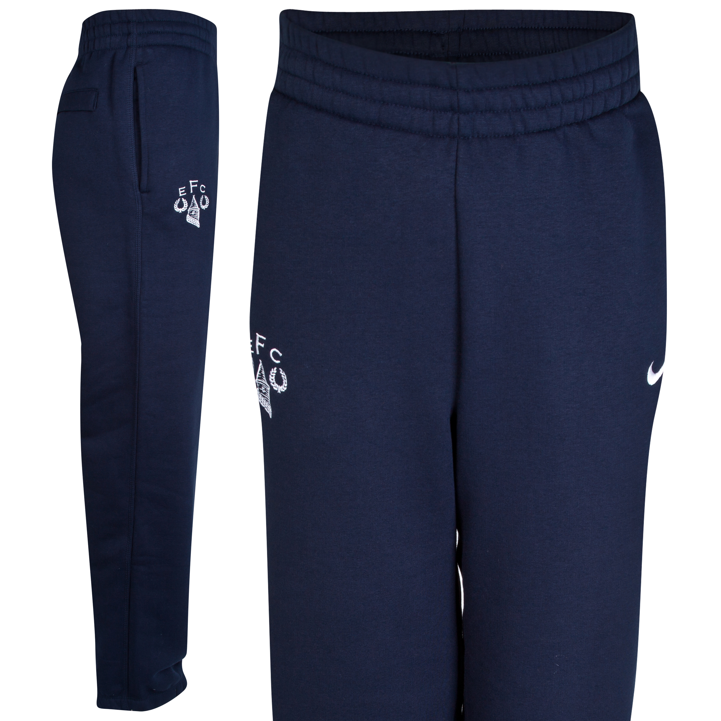 Everton Heritage Fleece Pant - Junior Navy