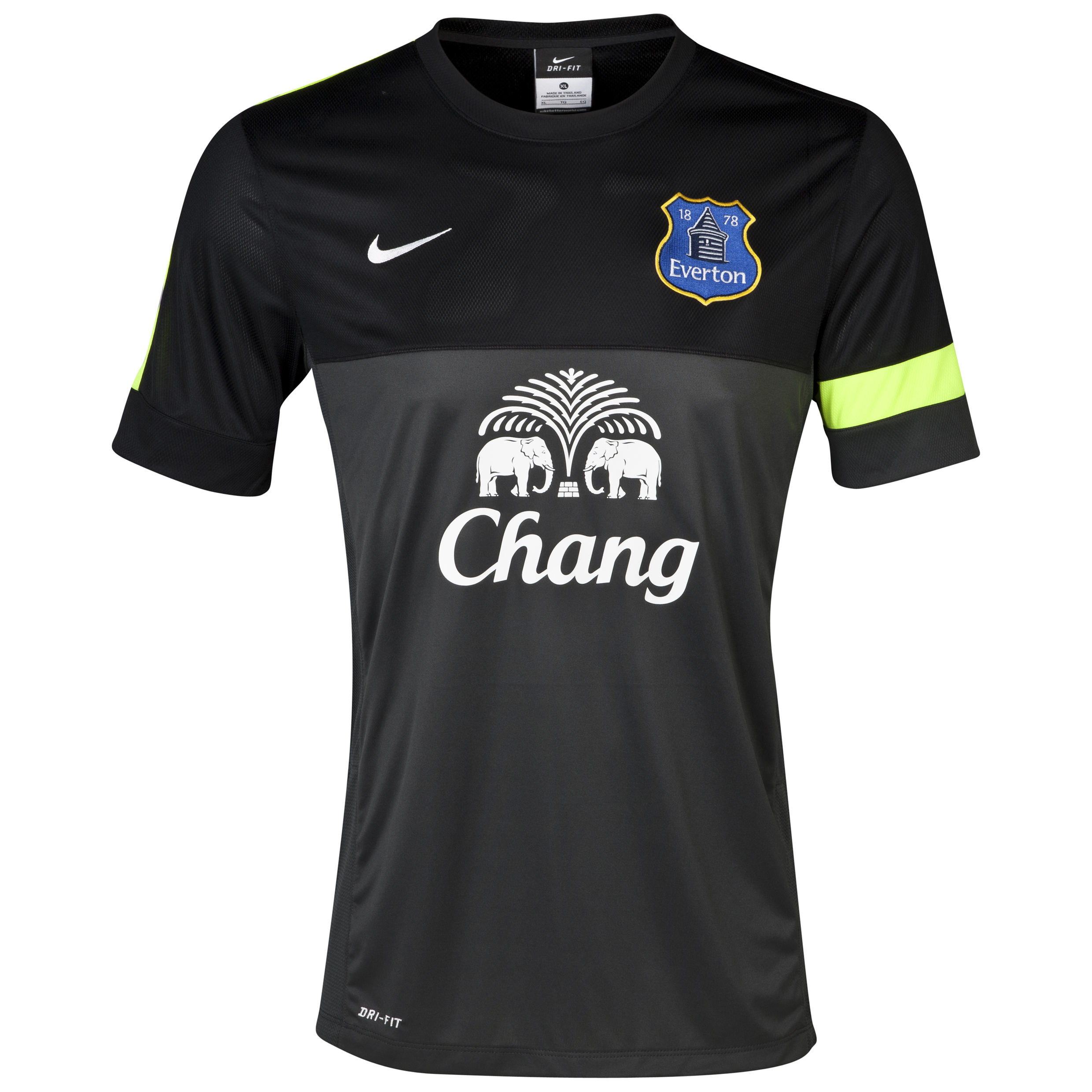 Everton Training T-Shirt Grey