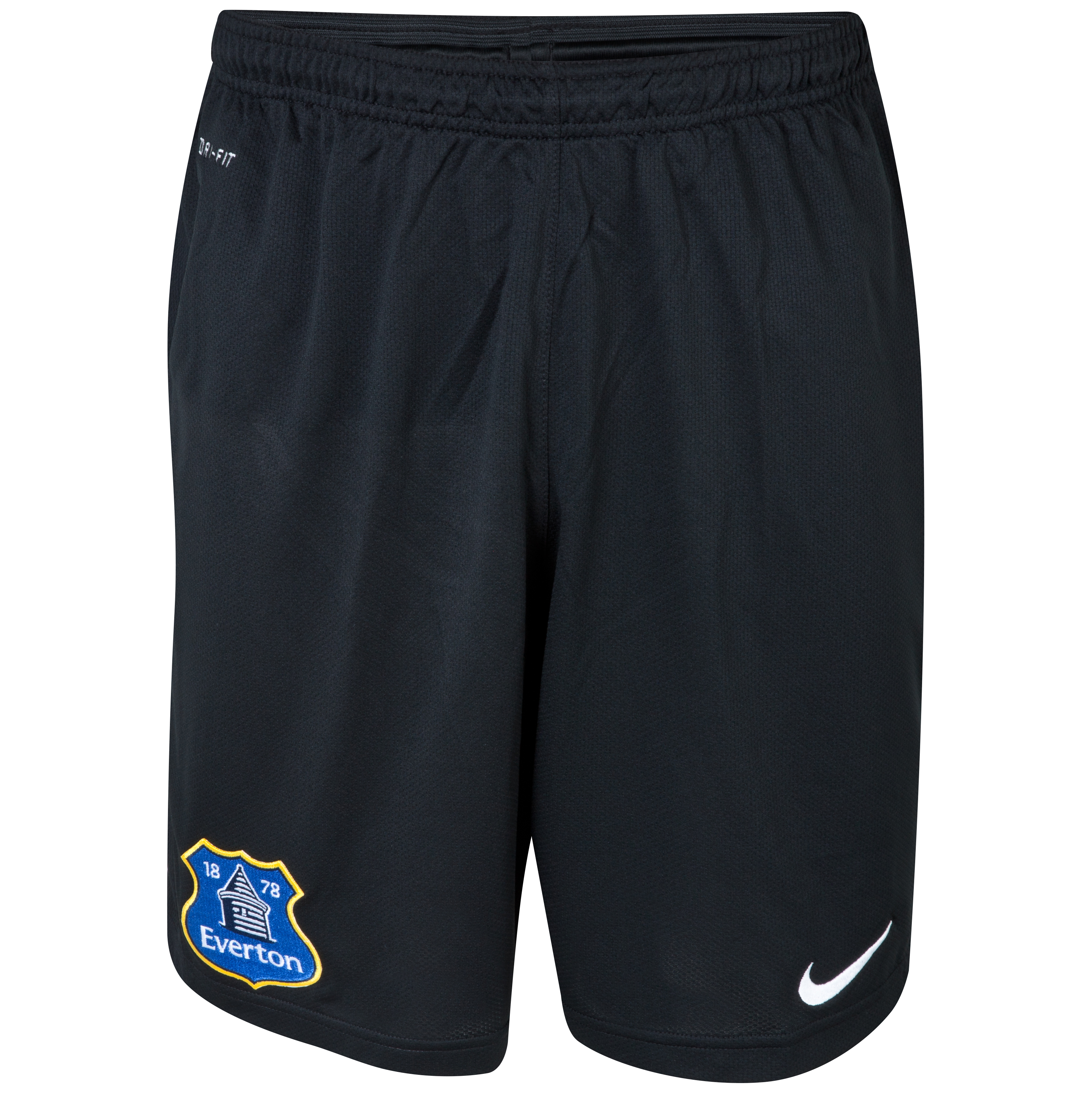 Everton Longer Knit Short Black