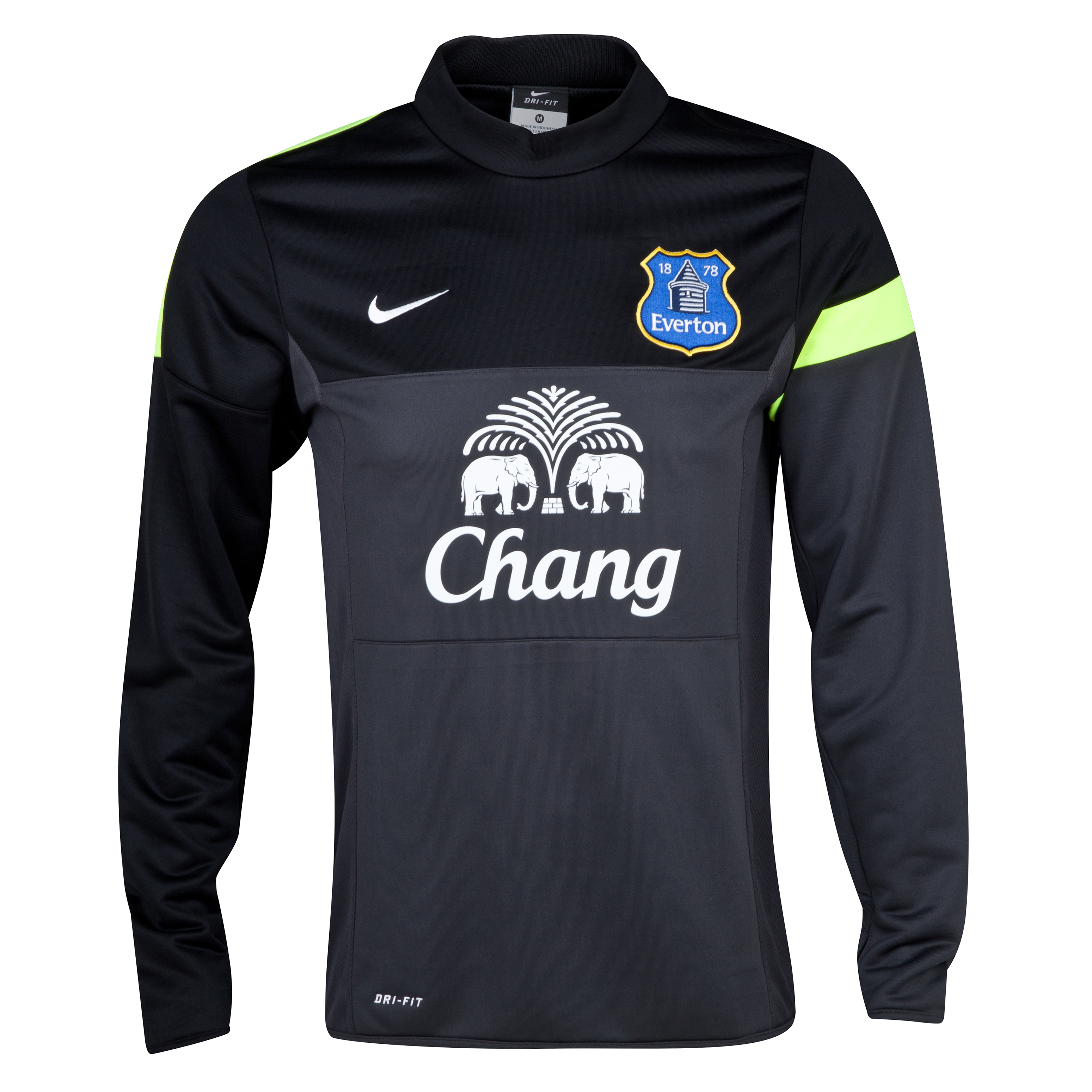 Everton Midlayer Top Grey