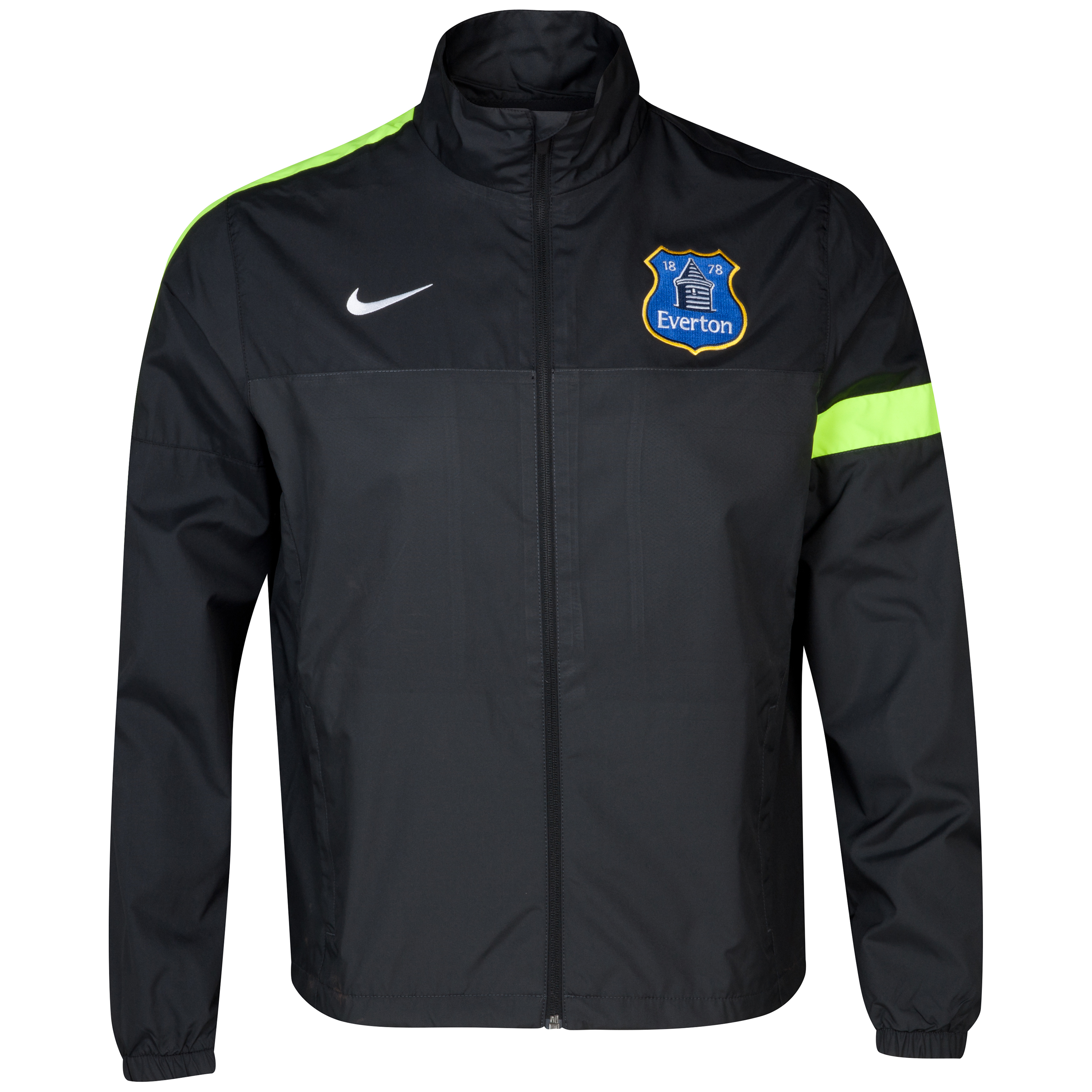 Everton Sideline Track Jacket Grey