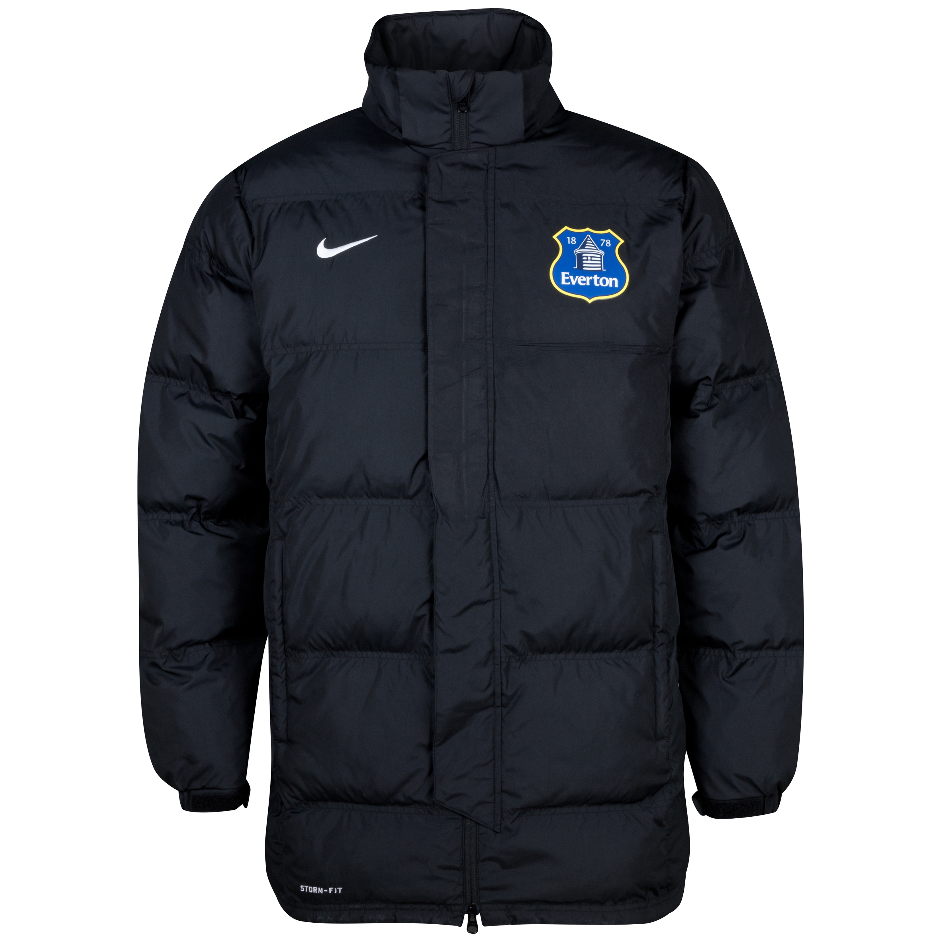Everton Padded Jacket Black