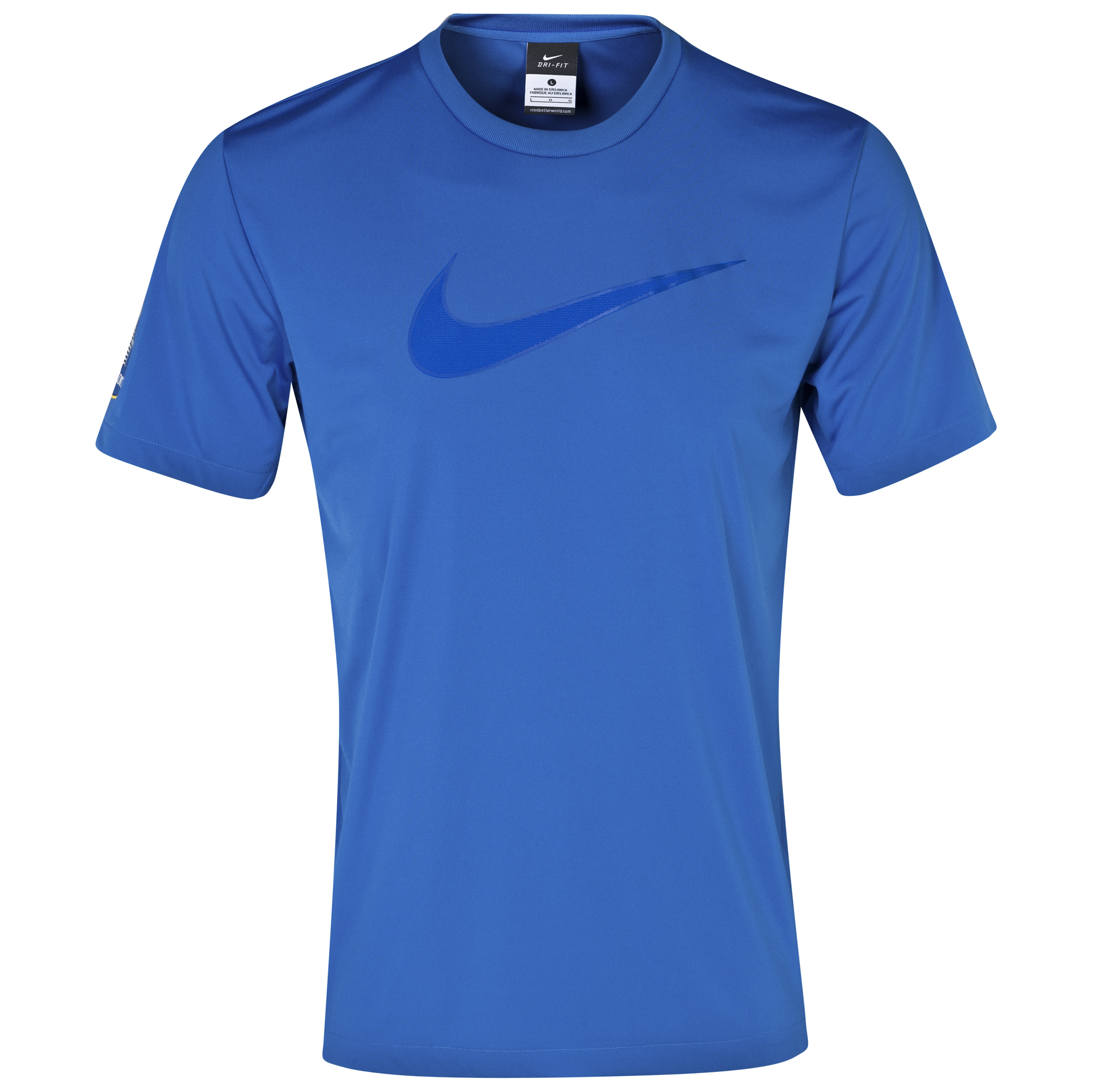 Everton Leisure T-Shirt - Junior Royal Blue