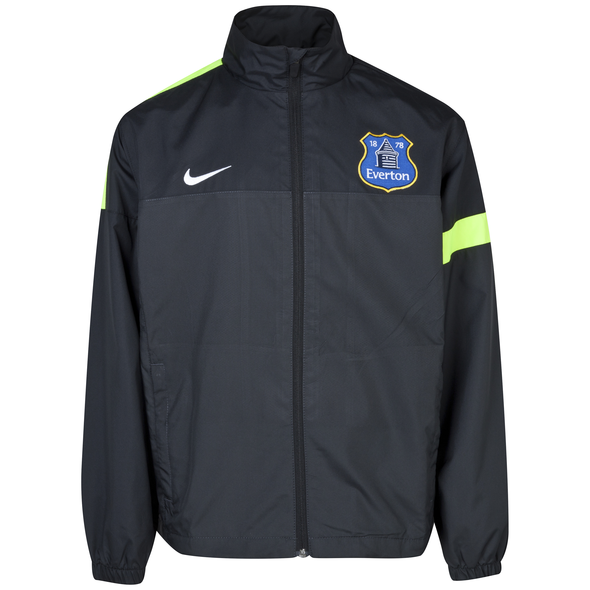 Everton Sideline Track Jacket - Junior Grey