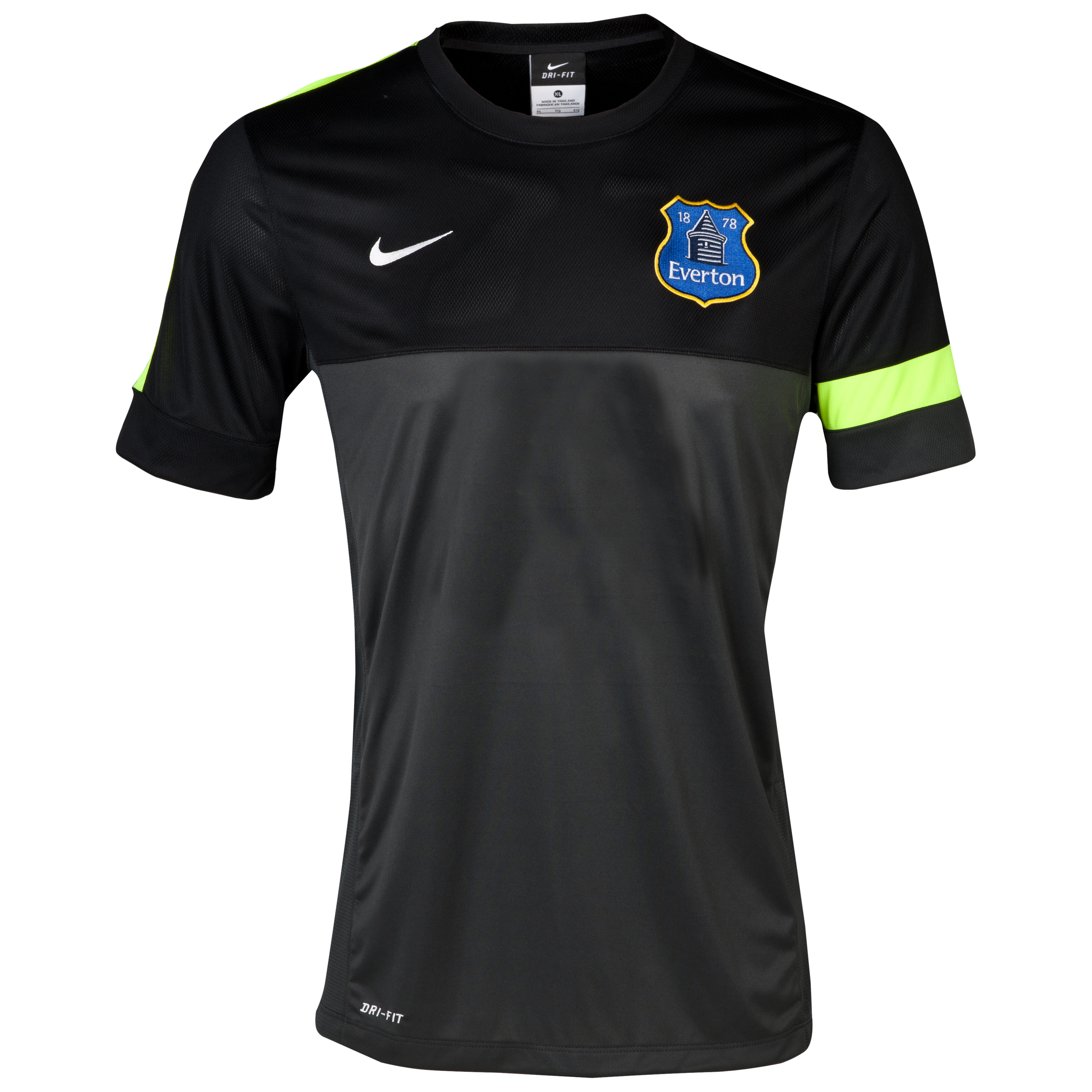 Everton Training T-Shirt - Junior Grey