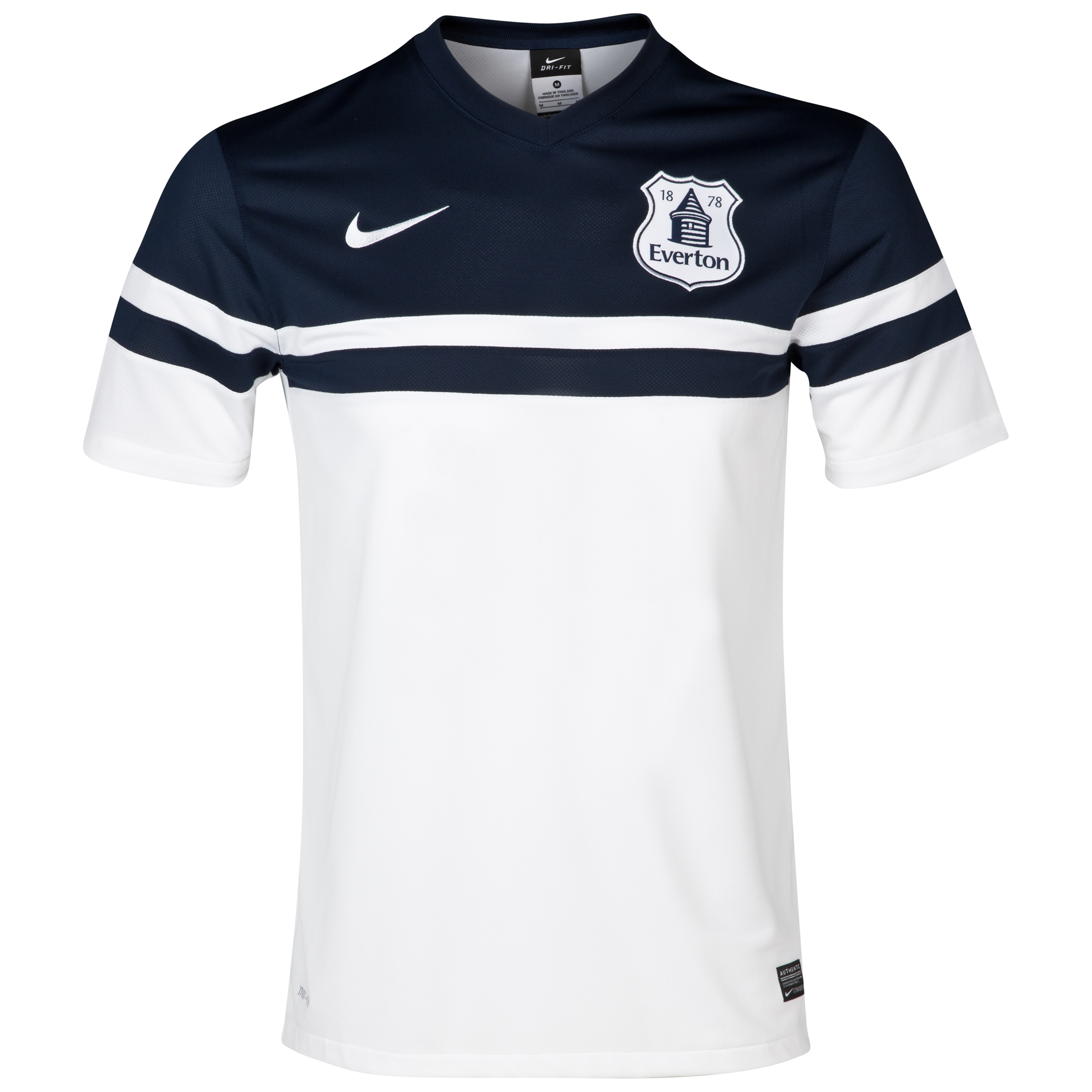 Everton 3rd Shirt 2013/14 - Junior White