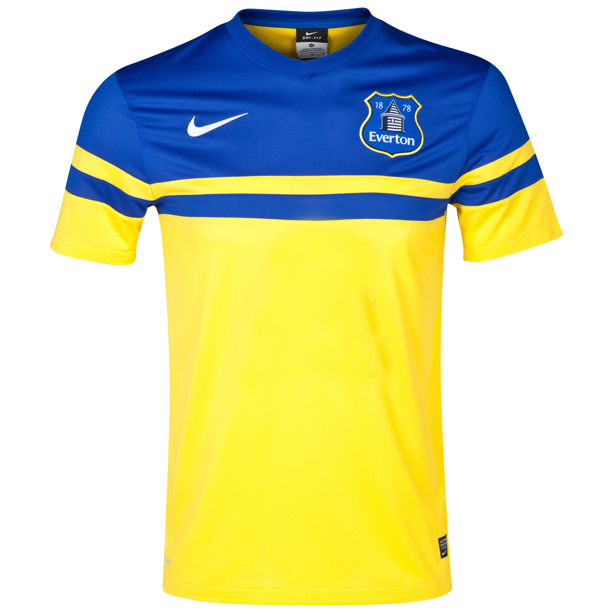 Everton Away Shirt 2013/14 - Junior Yellow