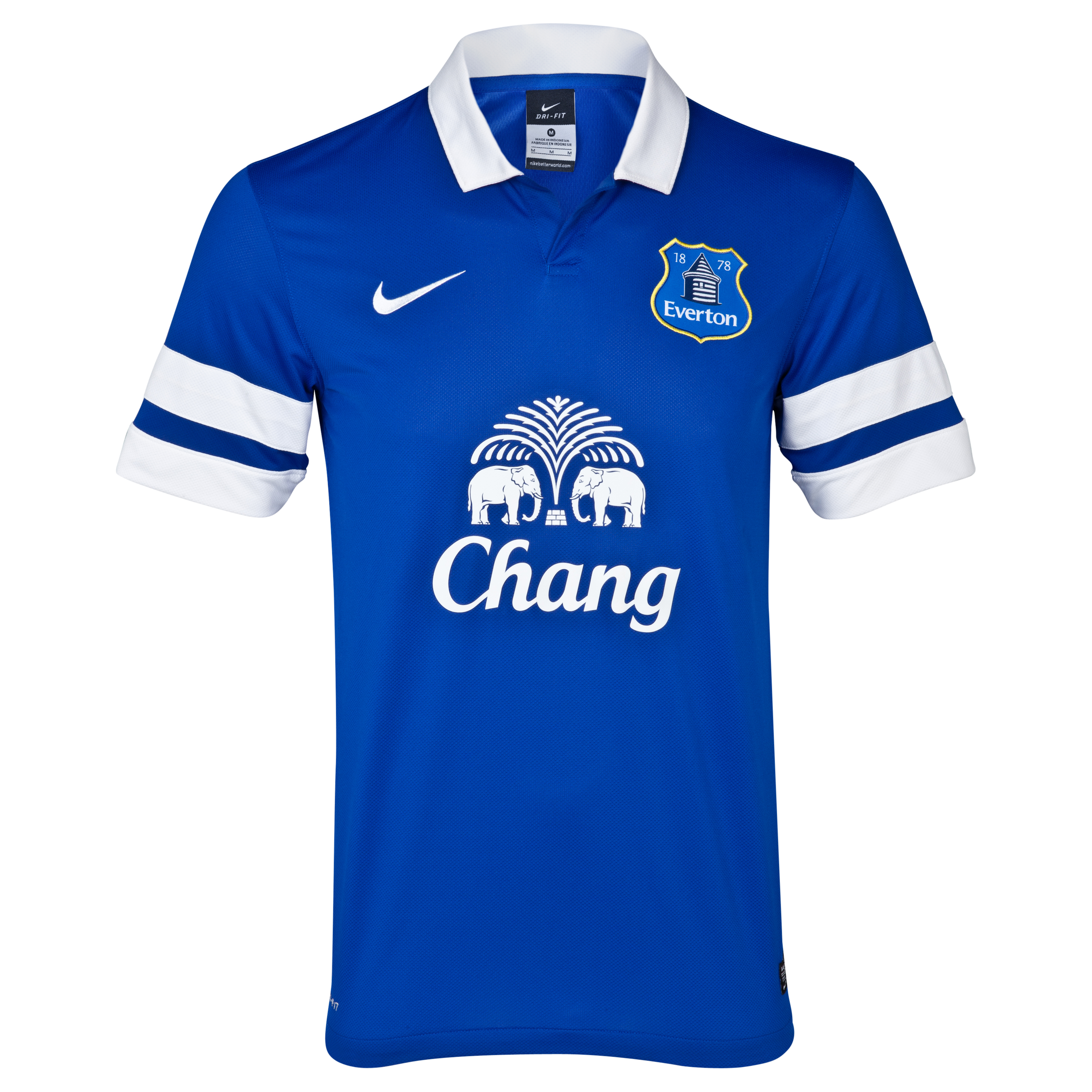Everton Home Shirt 2013/14 Blue