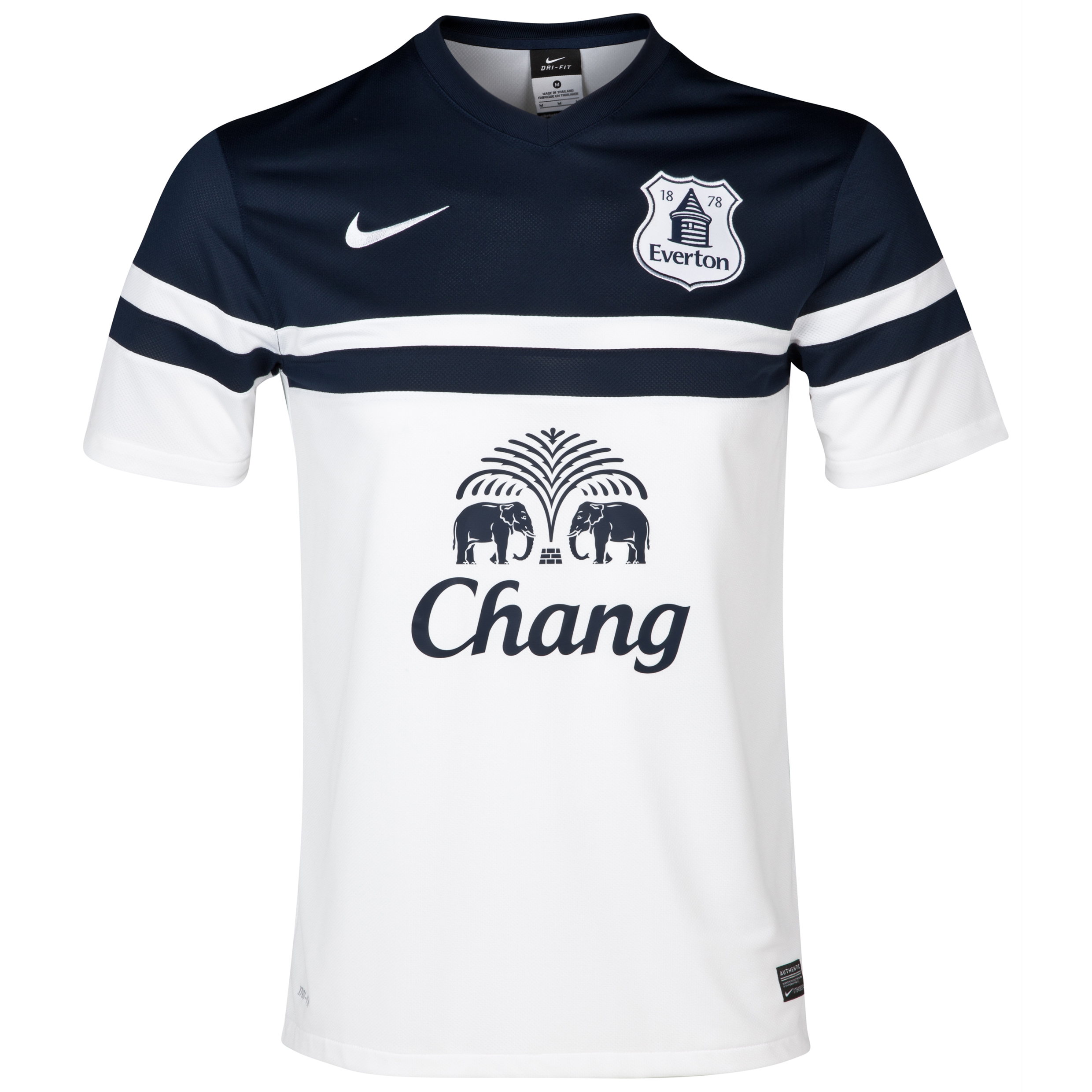 Everton 3rd Shirt 2013/14 White