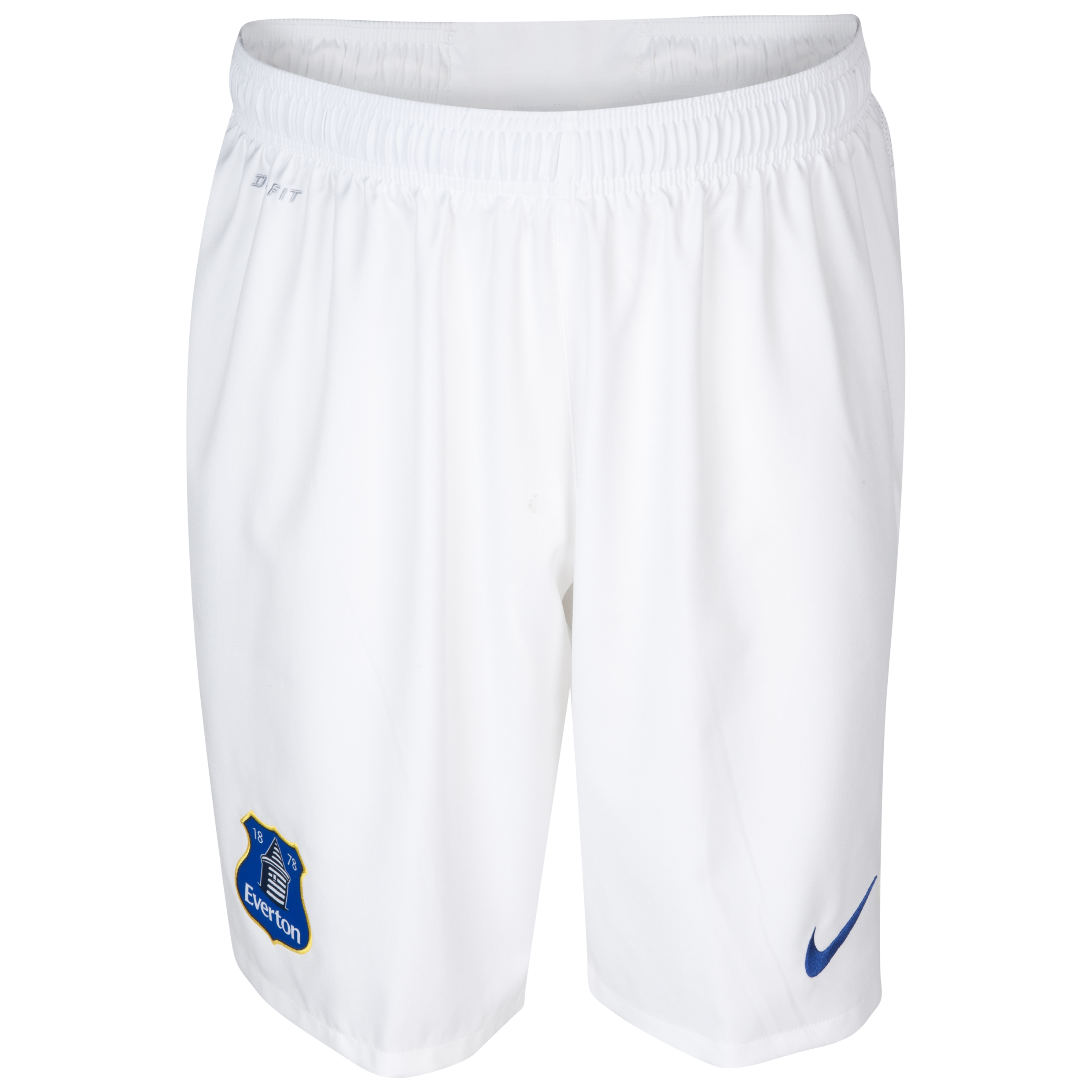 Everton Home Short 2013/14 - Junior White