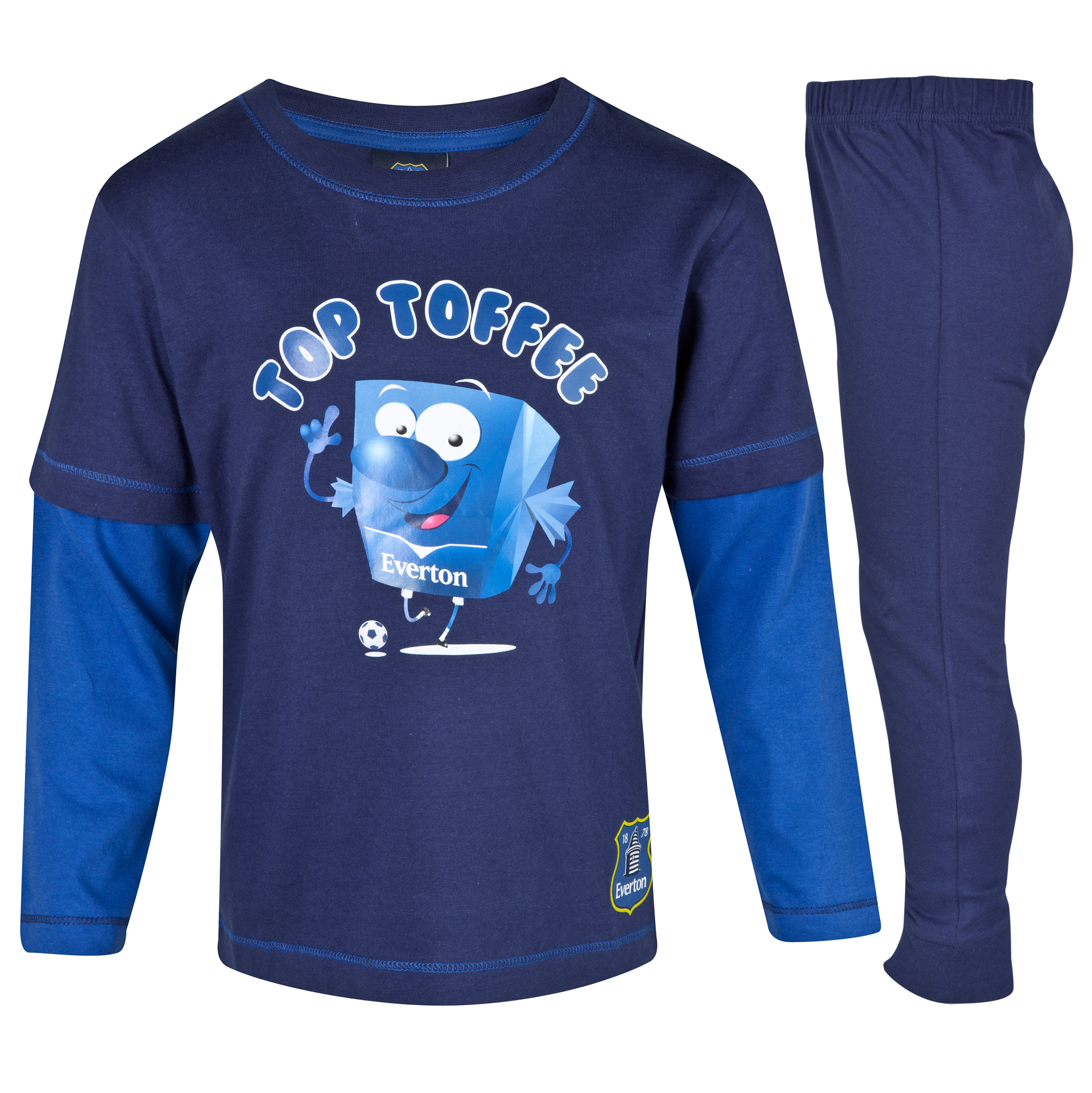Everton Toffee Pyjamas Infant Boys Navy