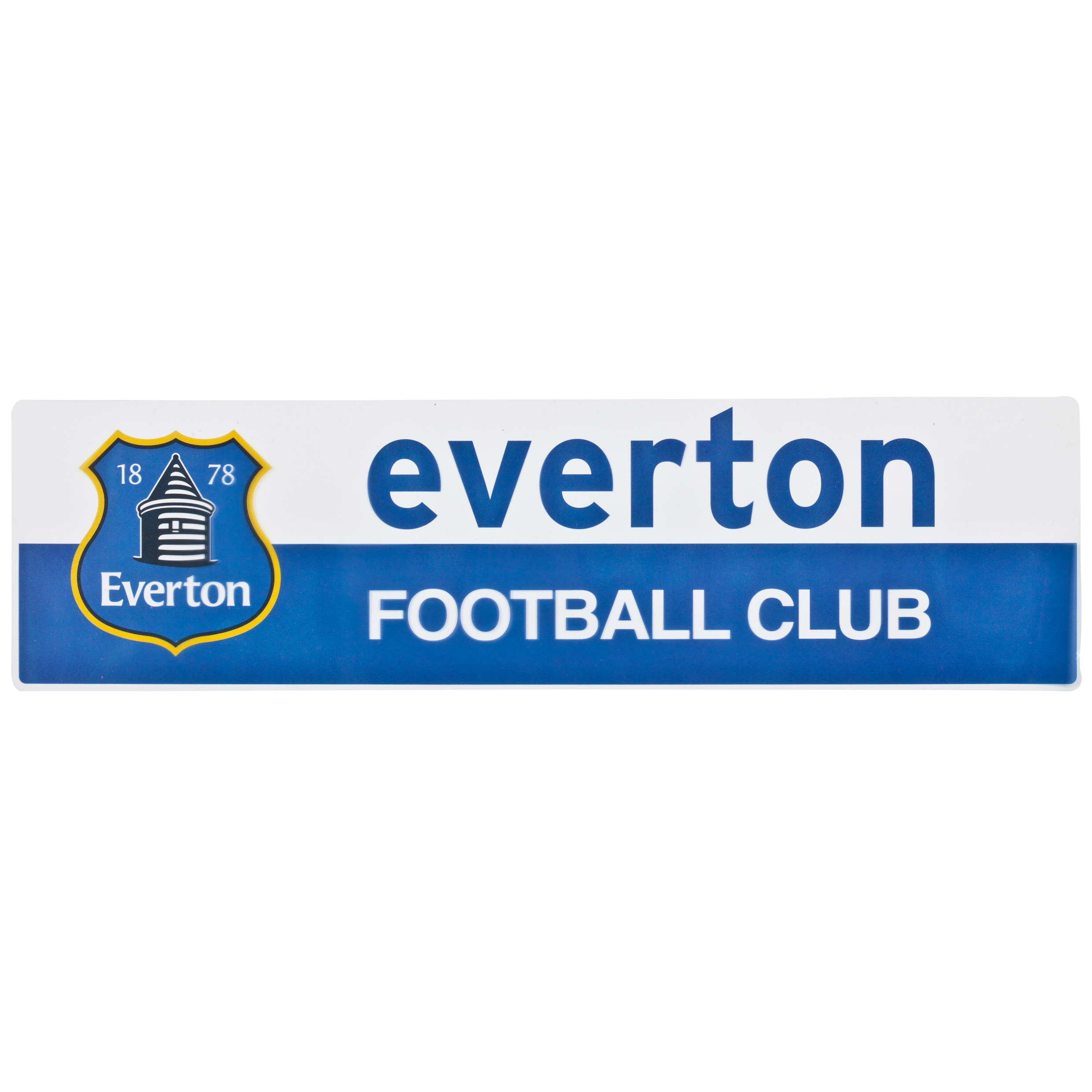 Everton Rectangle Car Sticker