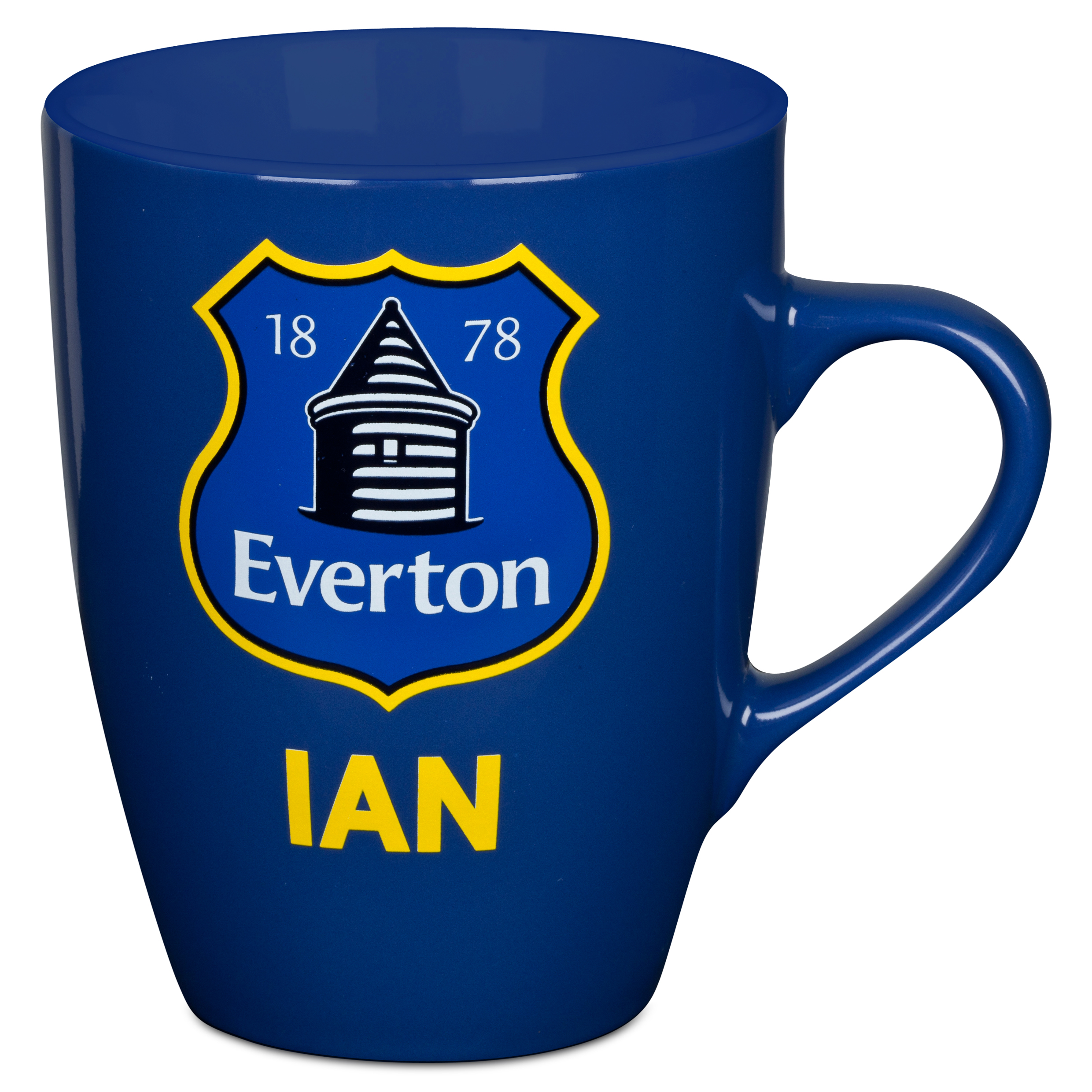 Everton Personalised Mug Royal Blue