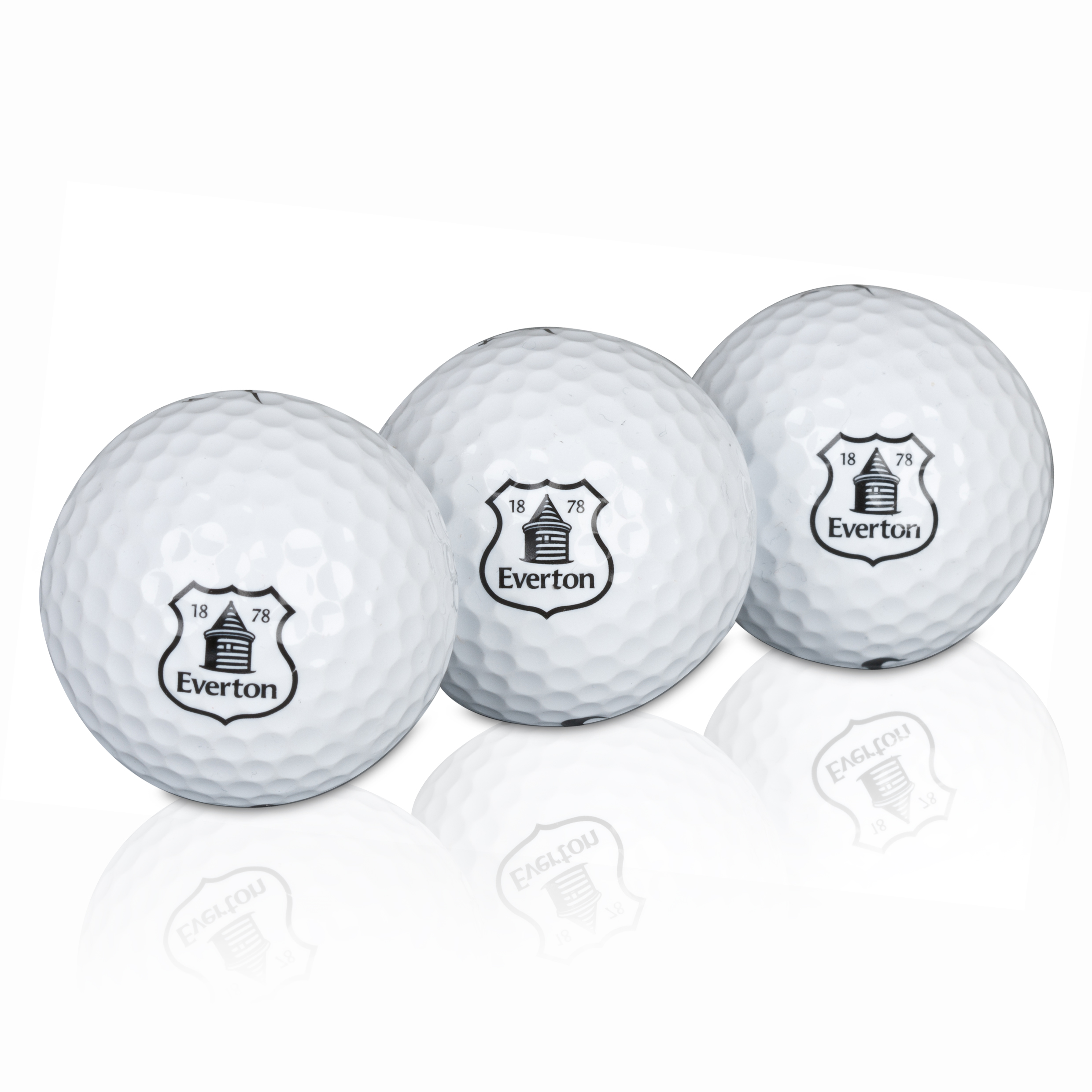 Everton Golf Balls 3 Pack