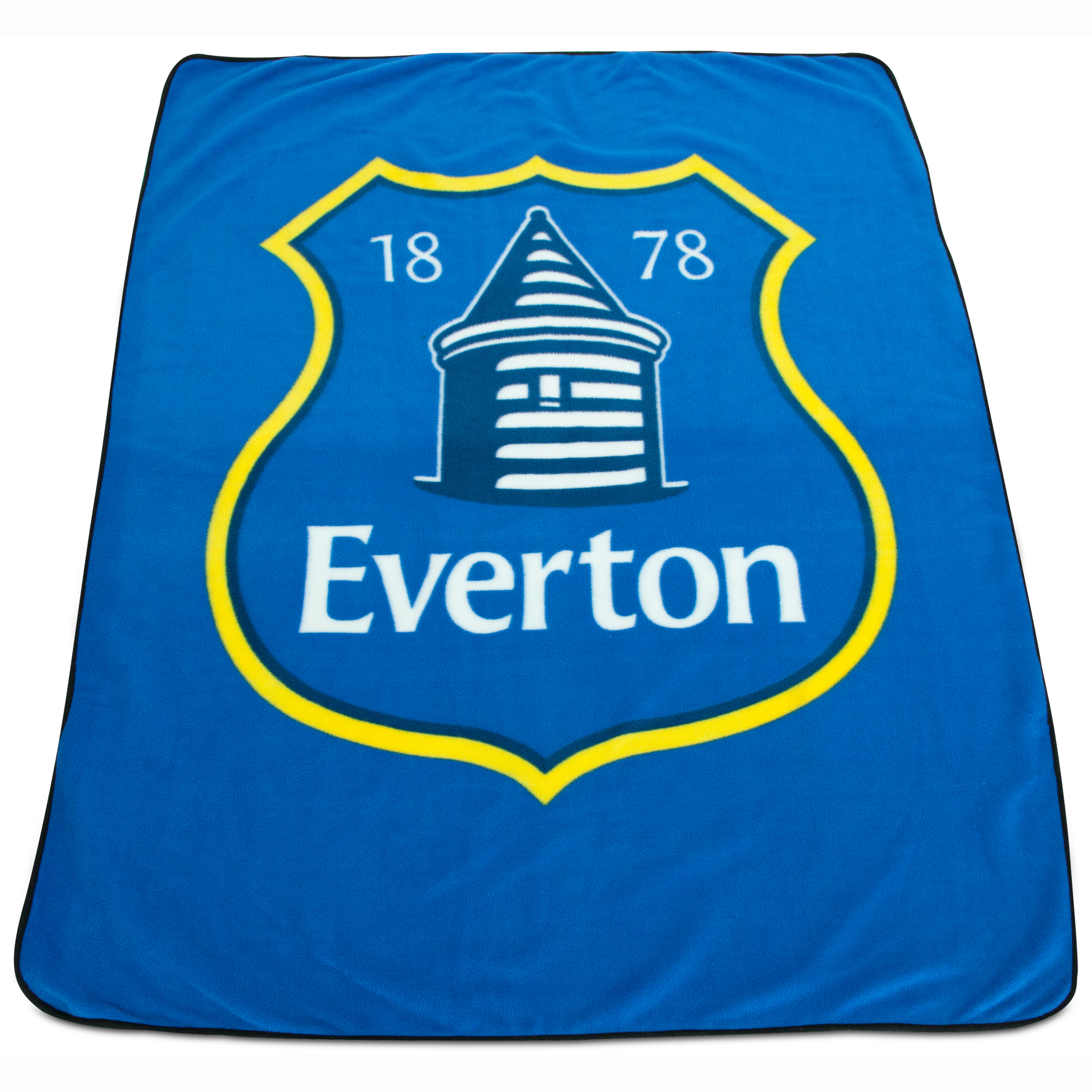 Everton Crest Fleece Throw
