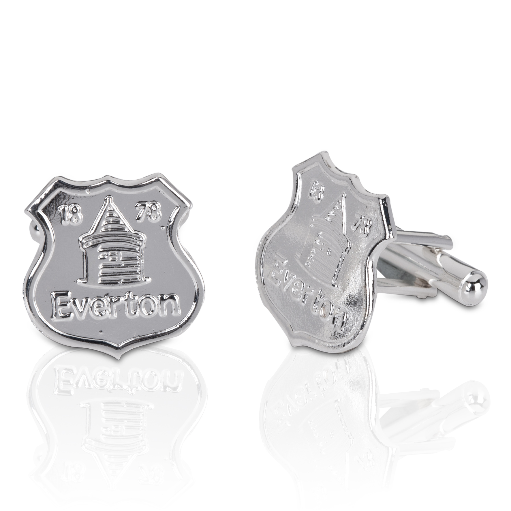 Everton Silver Plated Cufflinks