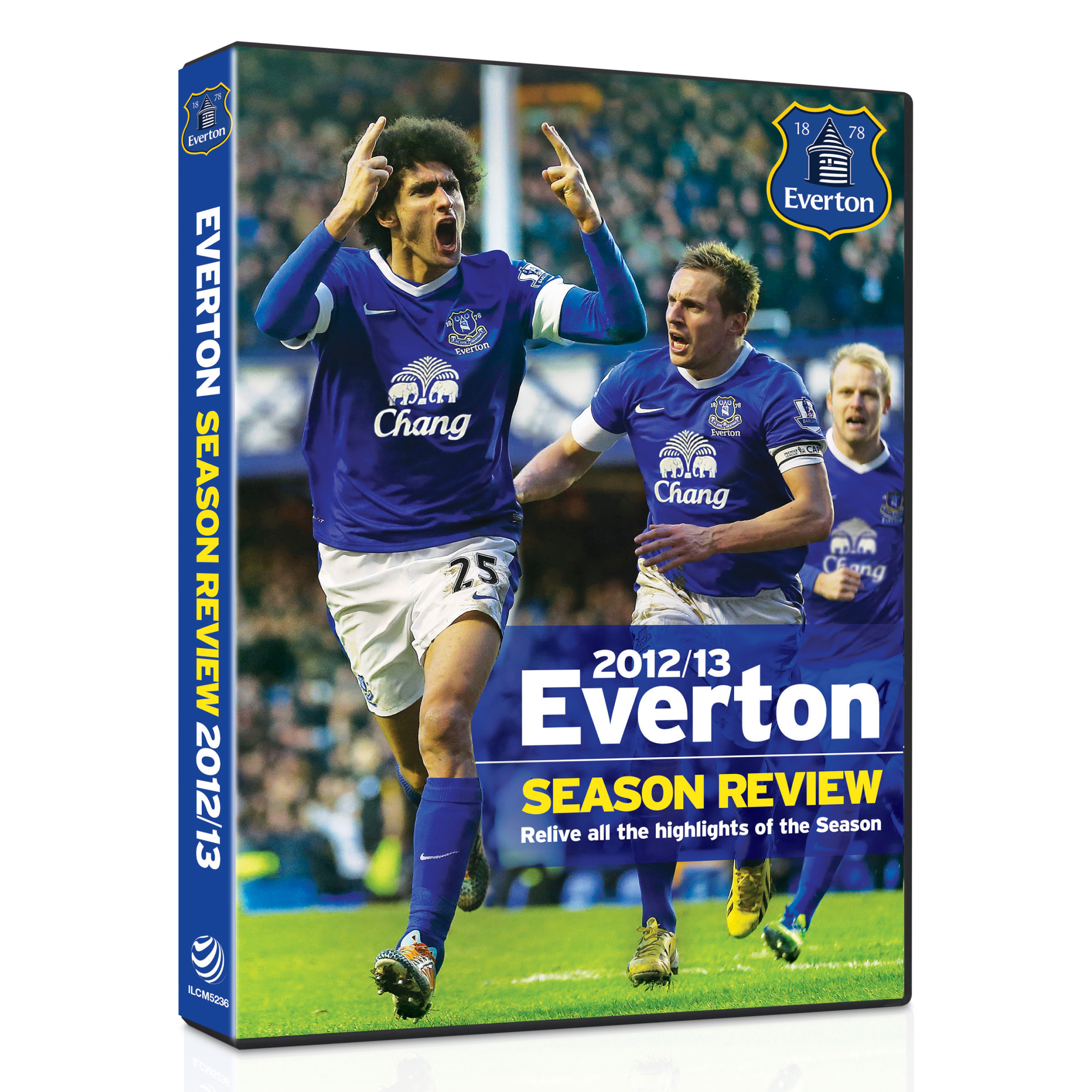 Everton Season Review 2012/13 DVD