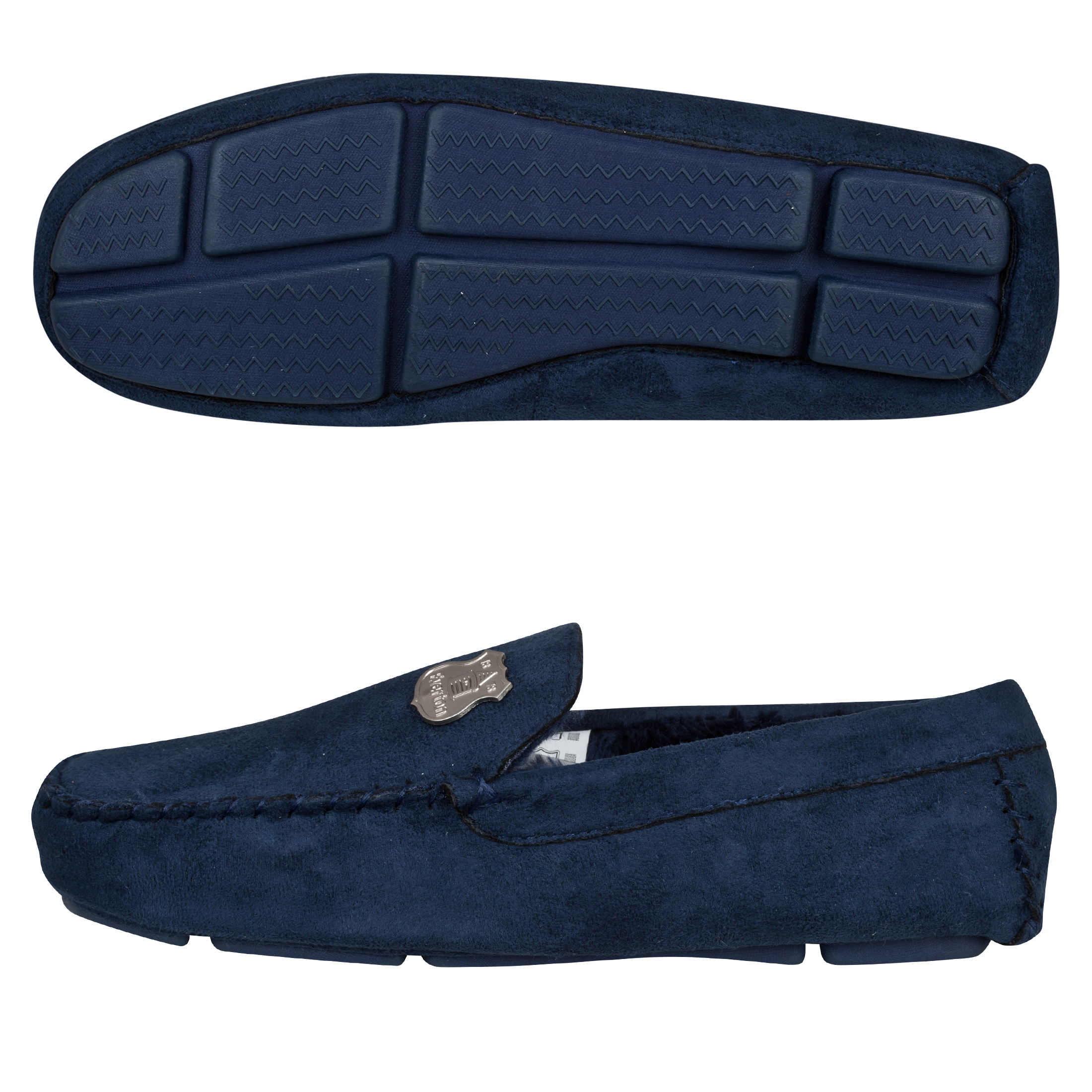 Everton Stanley Slippers Mens Navy