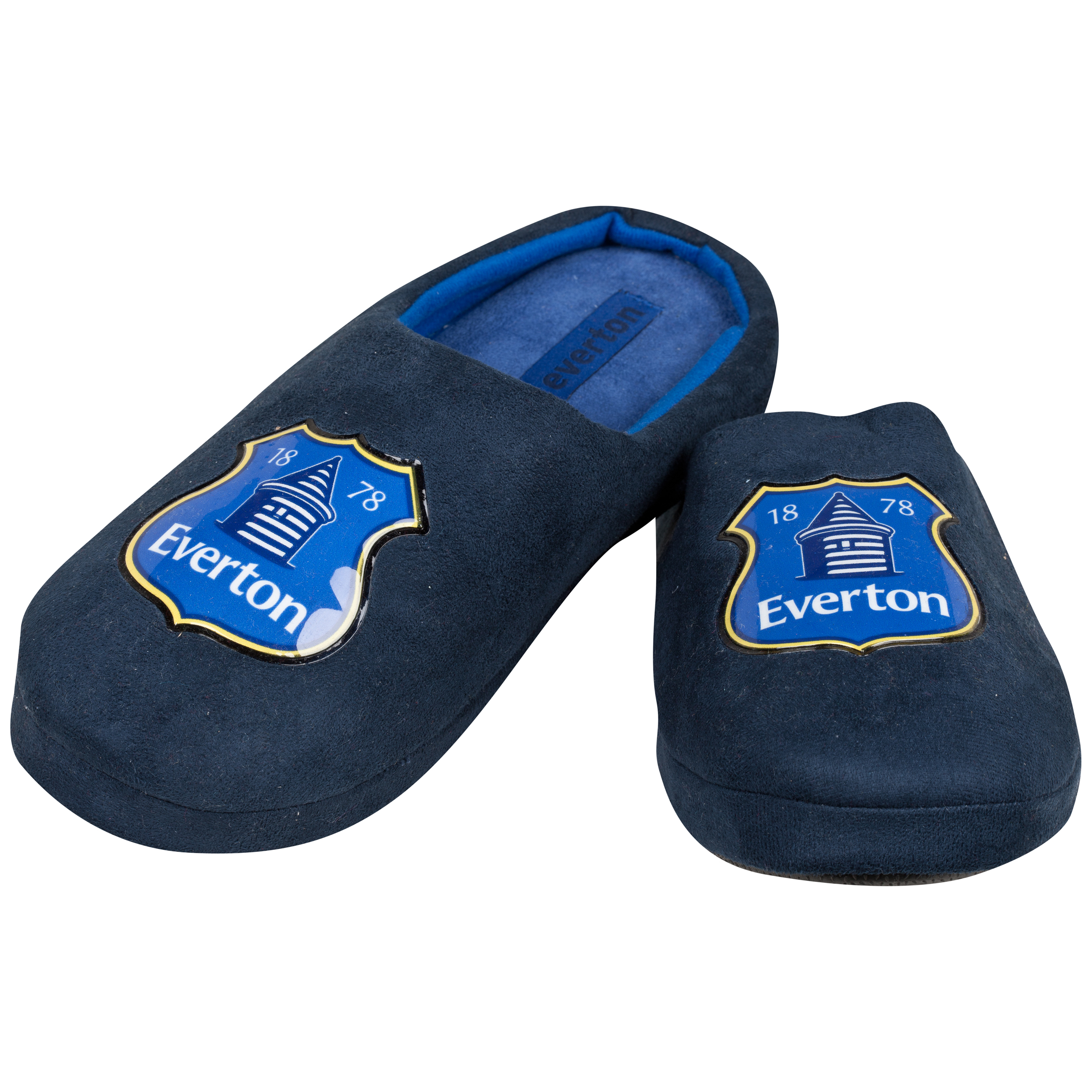 Everton Mason Slippers Boys Navy
