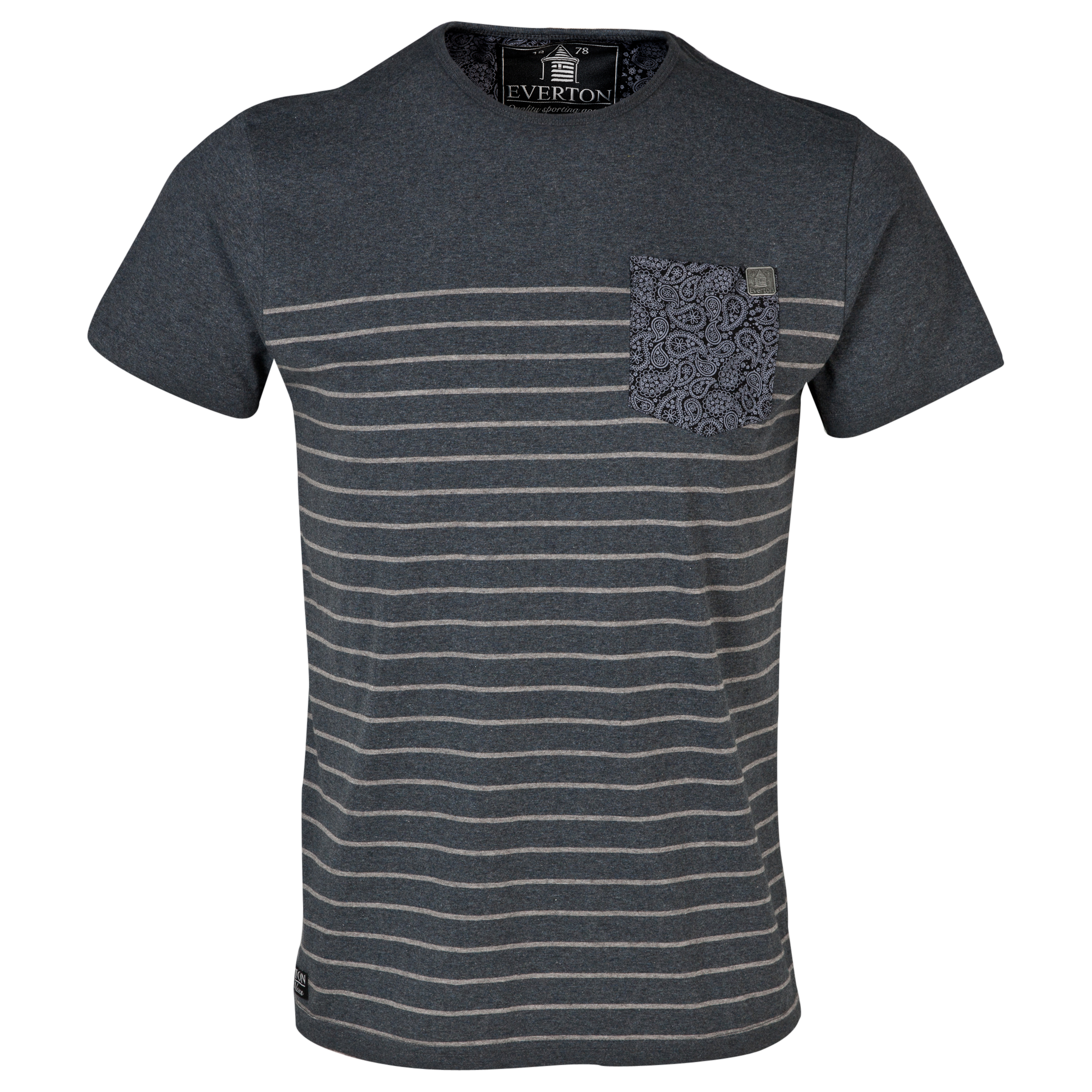 Everton Caron T-Shirt- Mens Charcoal