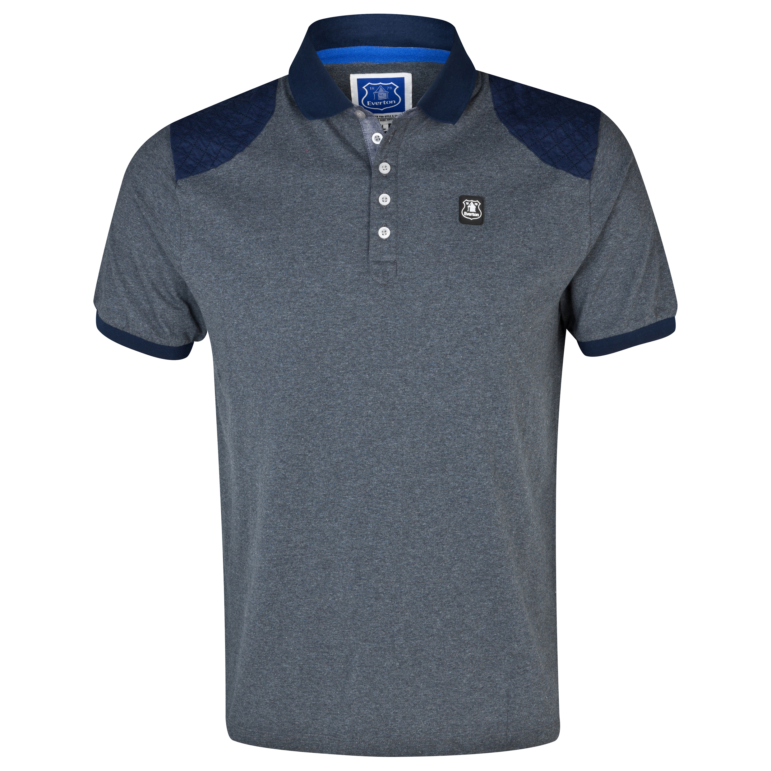Everton Elko Polo Shirt - Mens Charcoal