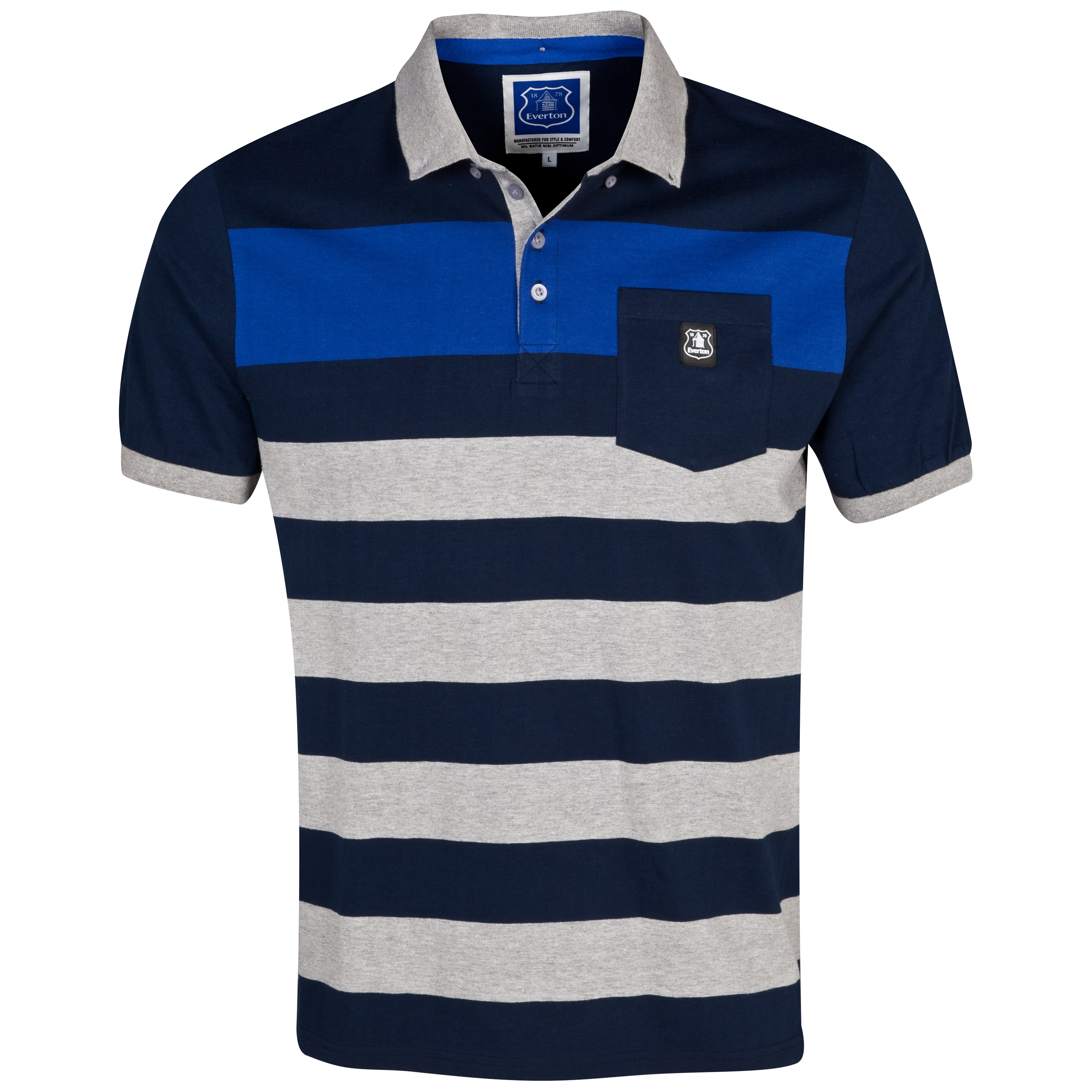 Everton Utah Polo Shirt - Mens Multi