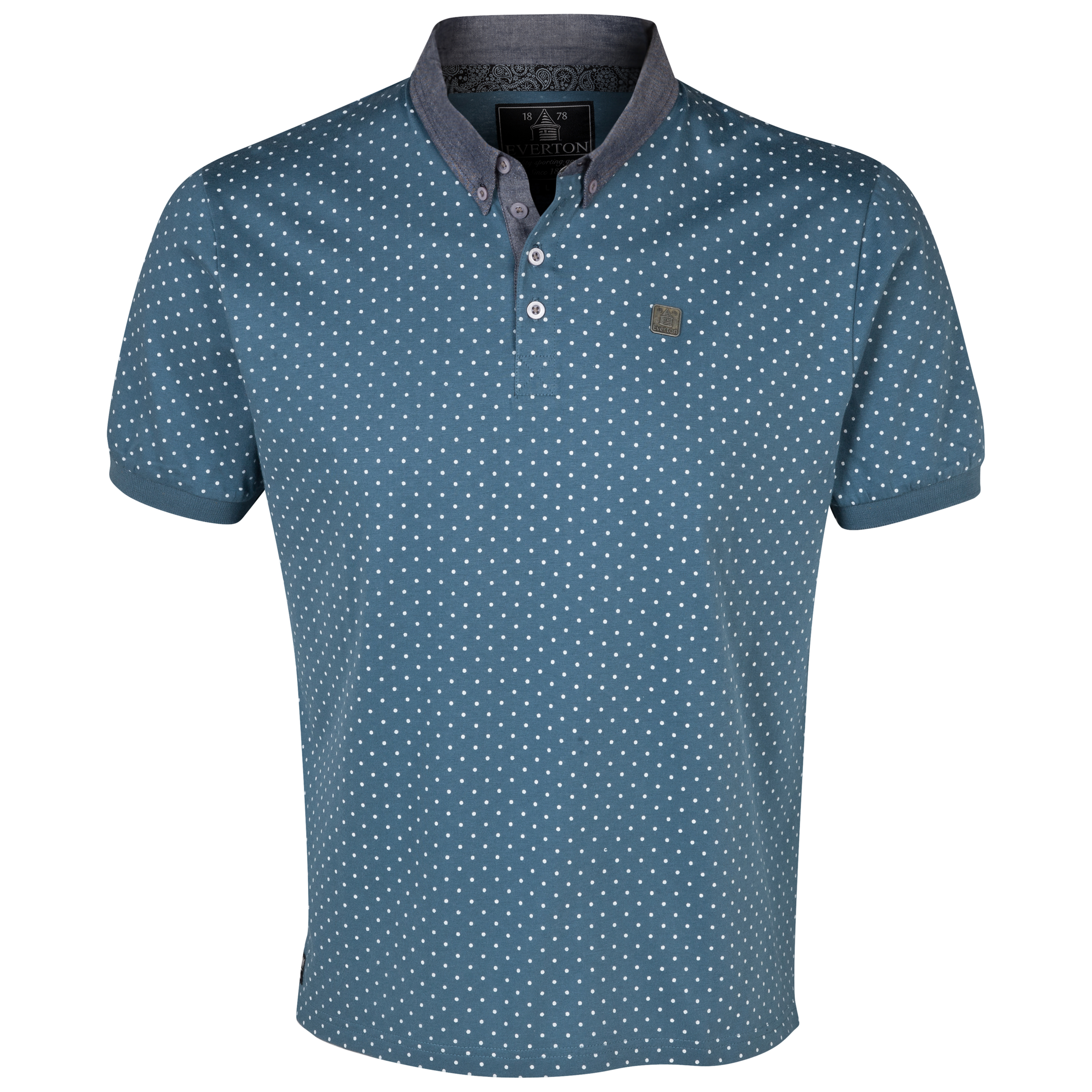 Everton Lexford Polo Shirt - Mens Charcoal
