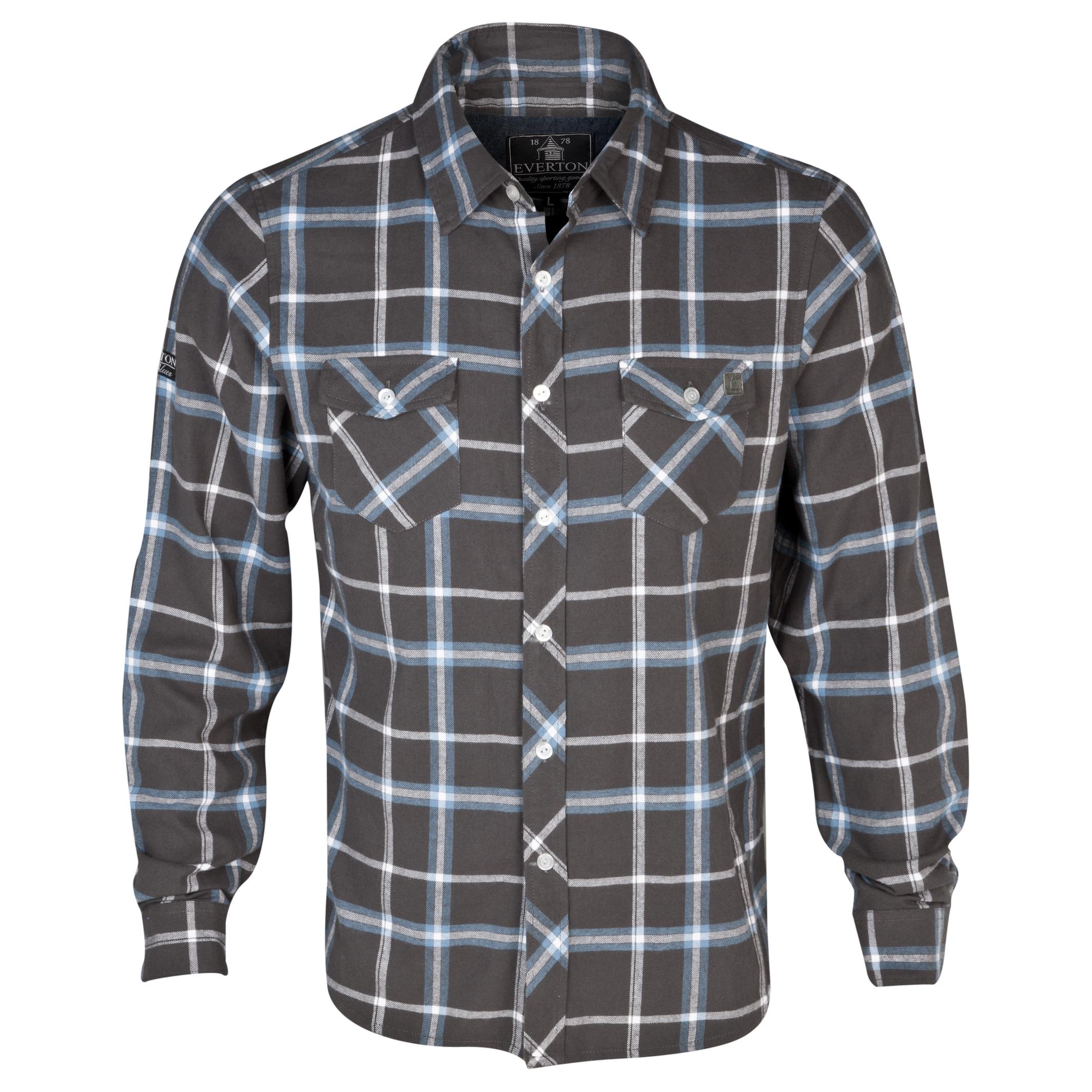 Everton Kyle Shirt - Mens Dk Grey