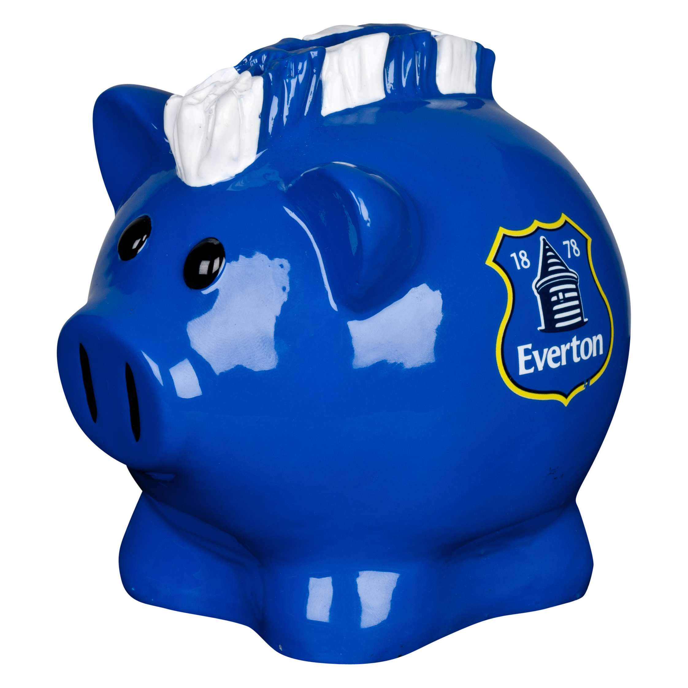 Everton Mohawk Small Piggy Bank - 4x4inch