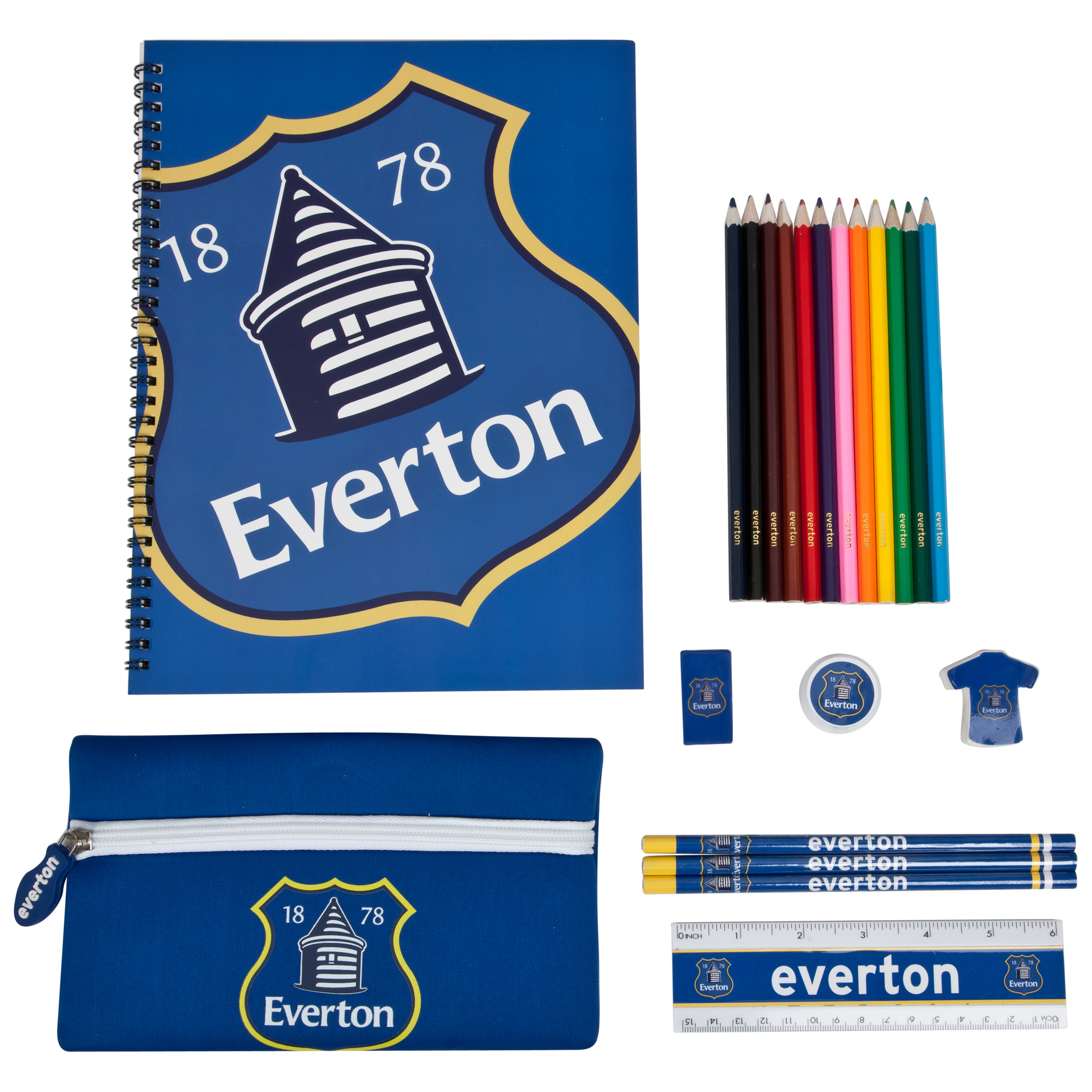 Everton Ultimate Stationery Set