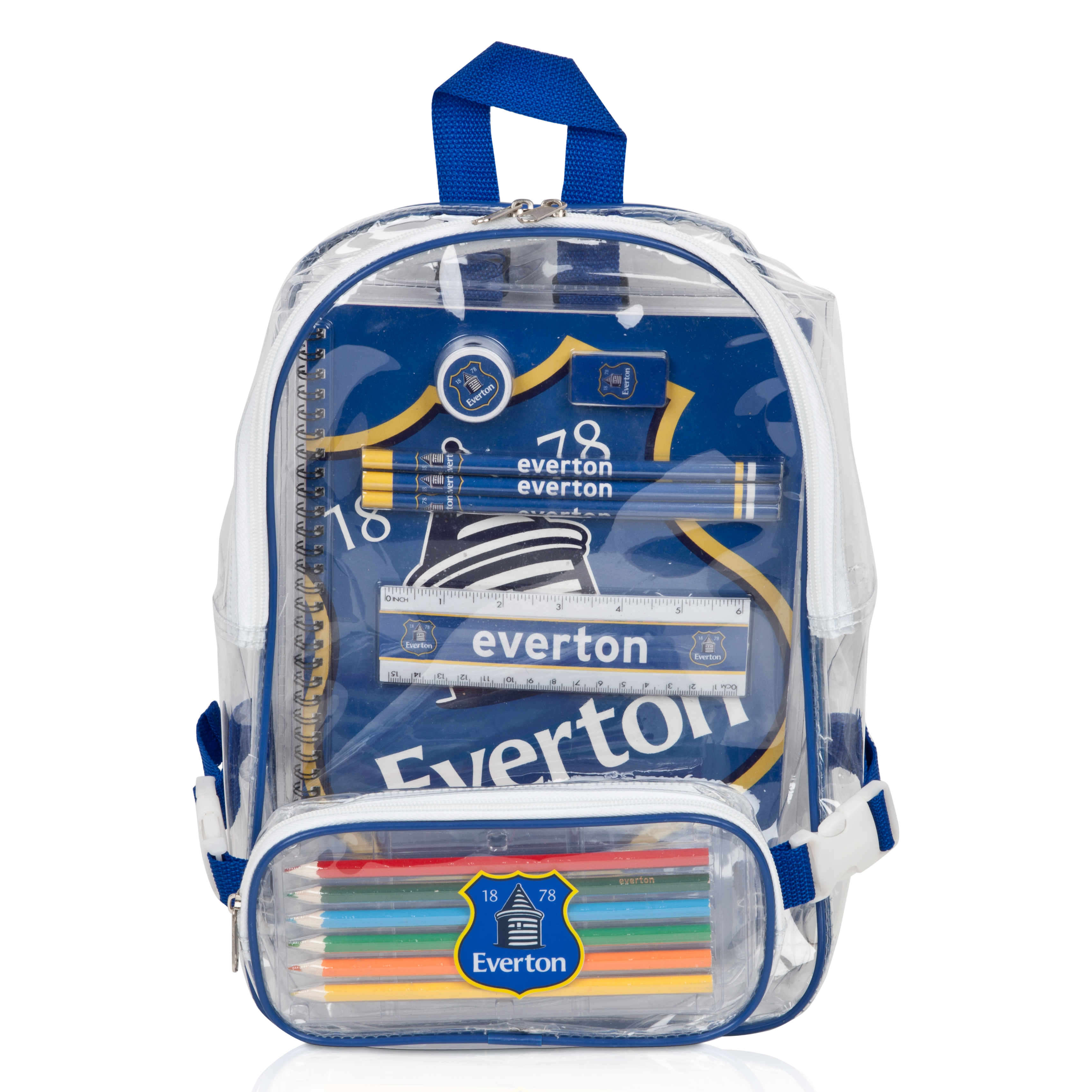 Everton Backpack Stationery Set