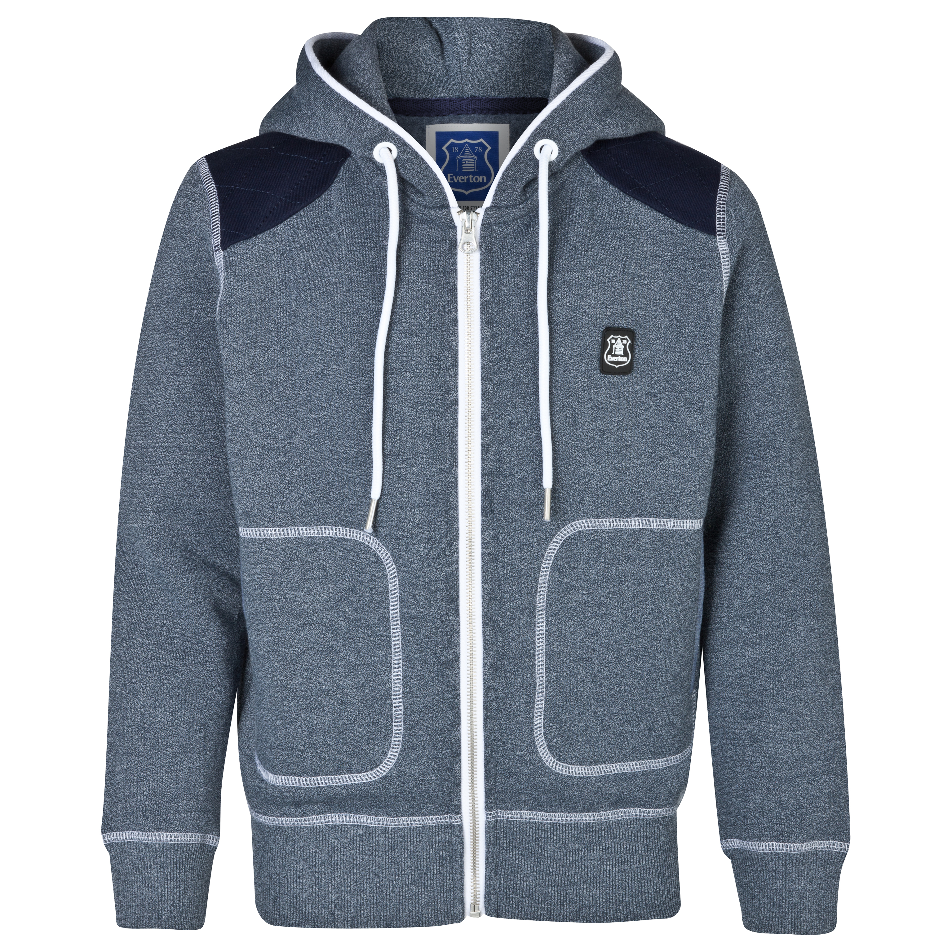Everton Alliance Hoodie - Boys Blue