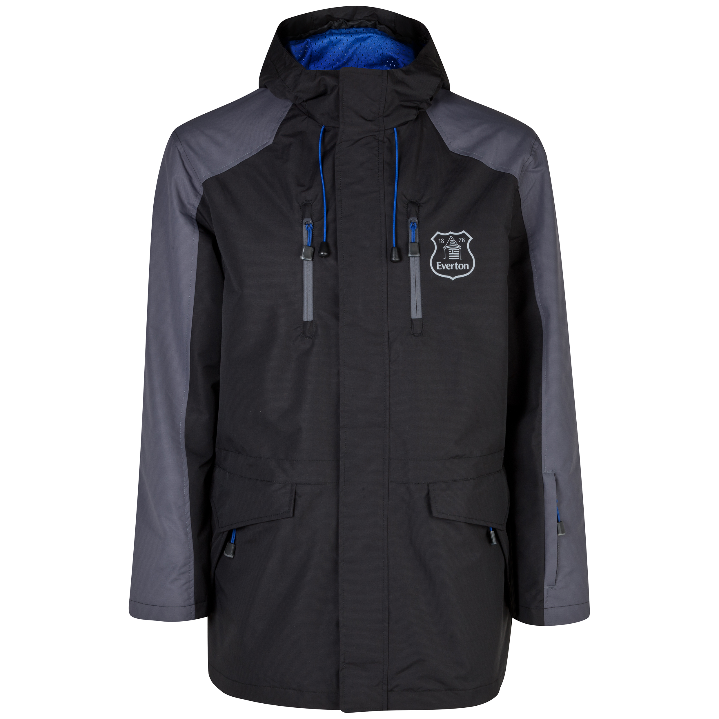Everton Performance Nebraska Jacket - Mens Black