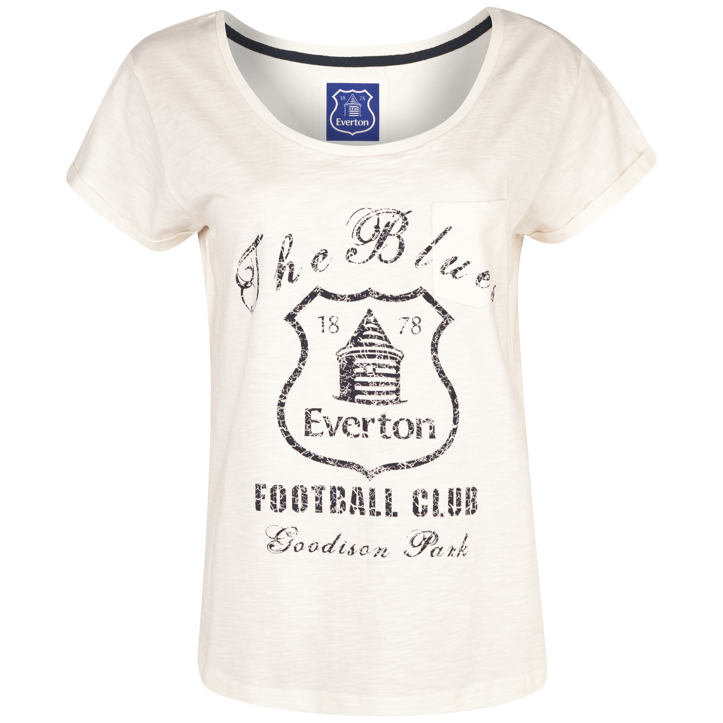 Everton Ester T-Shirt - Womens Cream