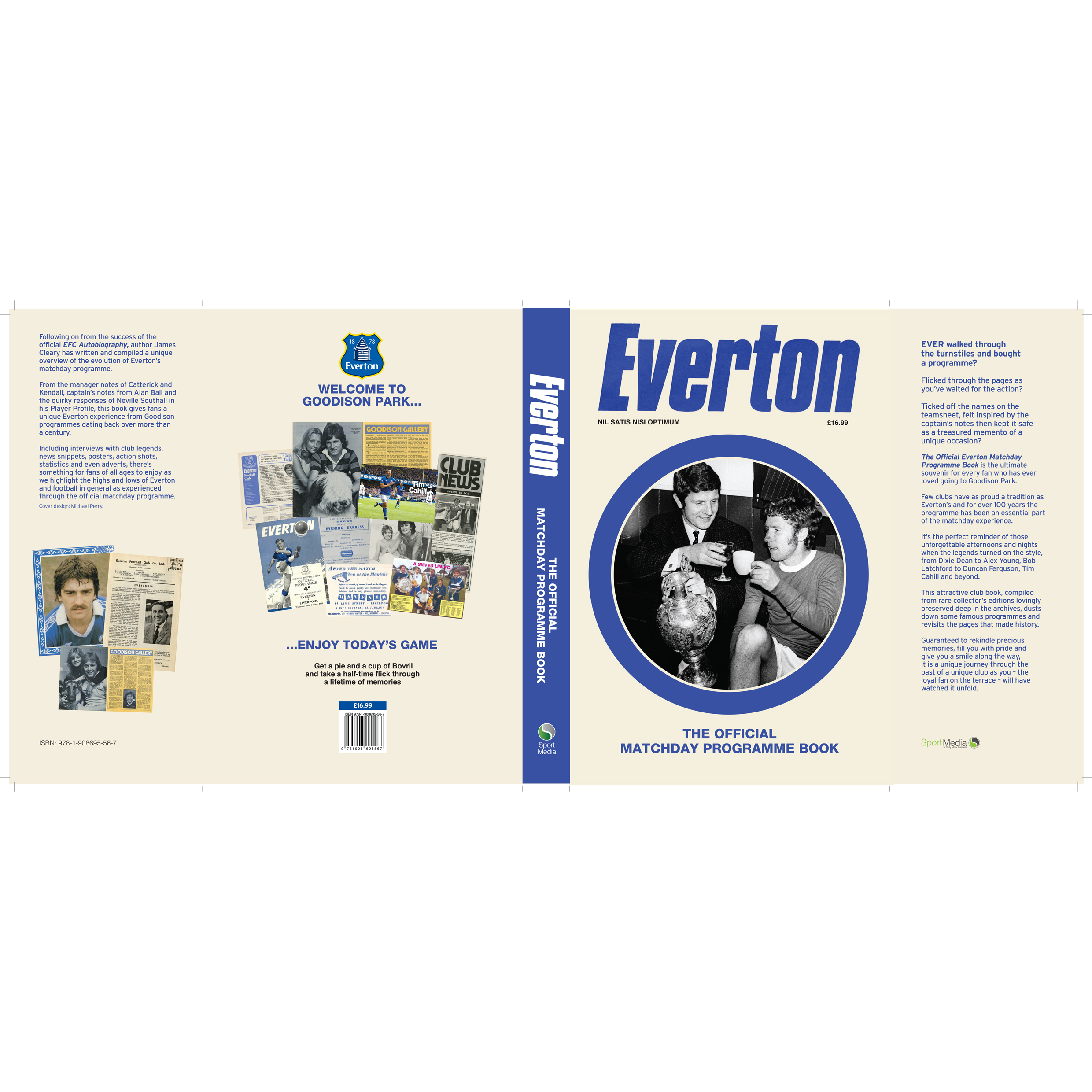 Everton Welcome to Goodison The Official Matchday Programme Book