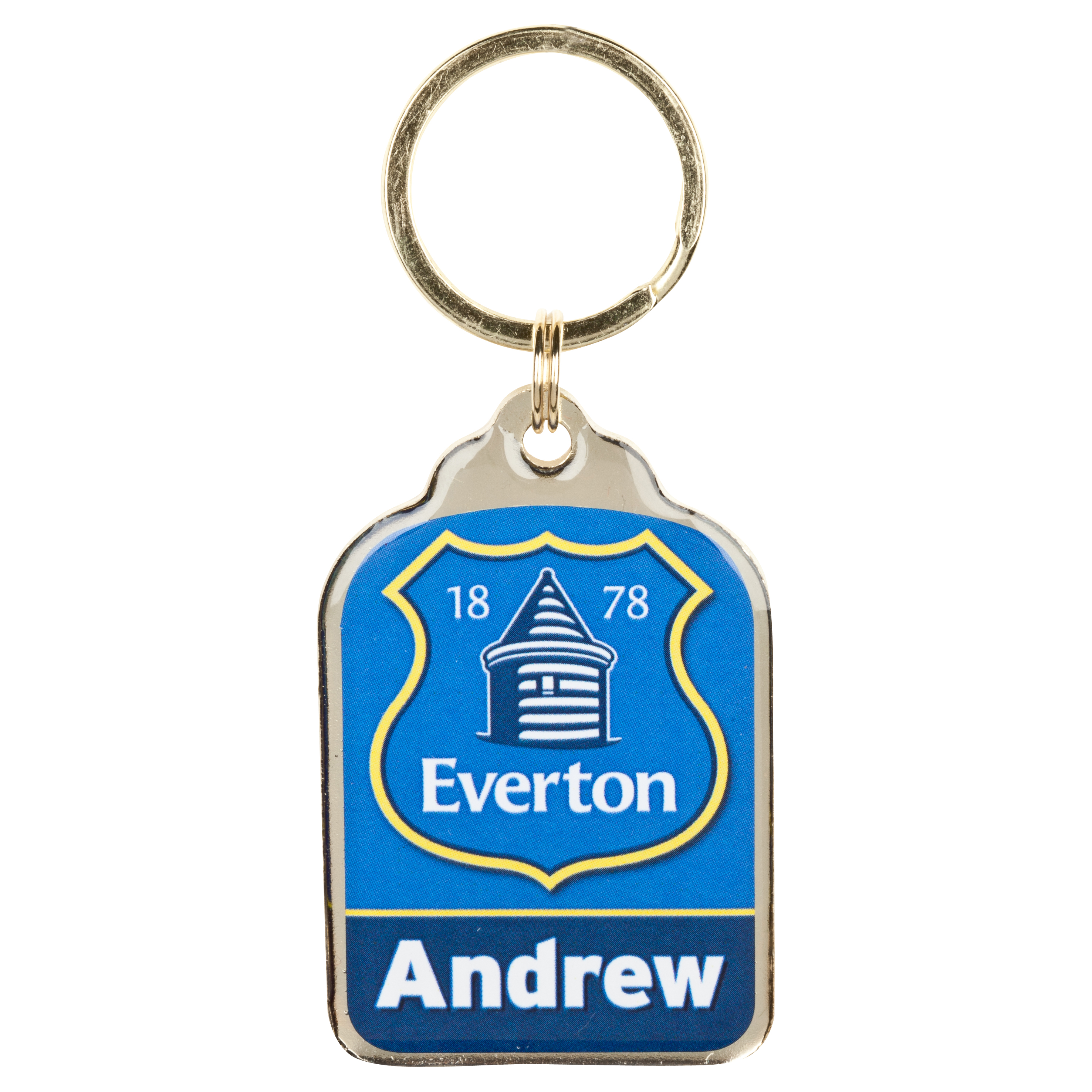 Everton Personalised Keyrings