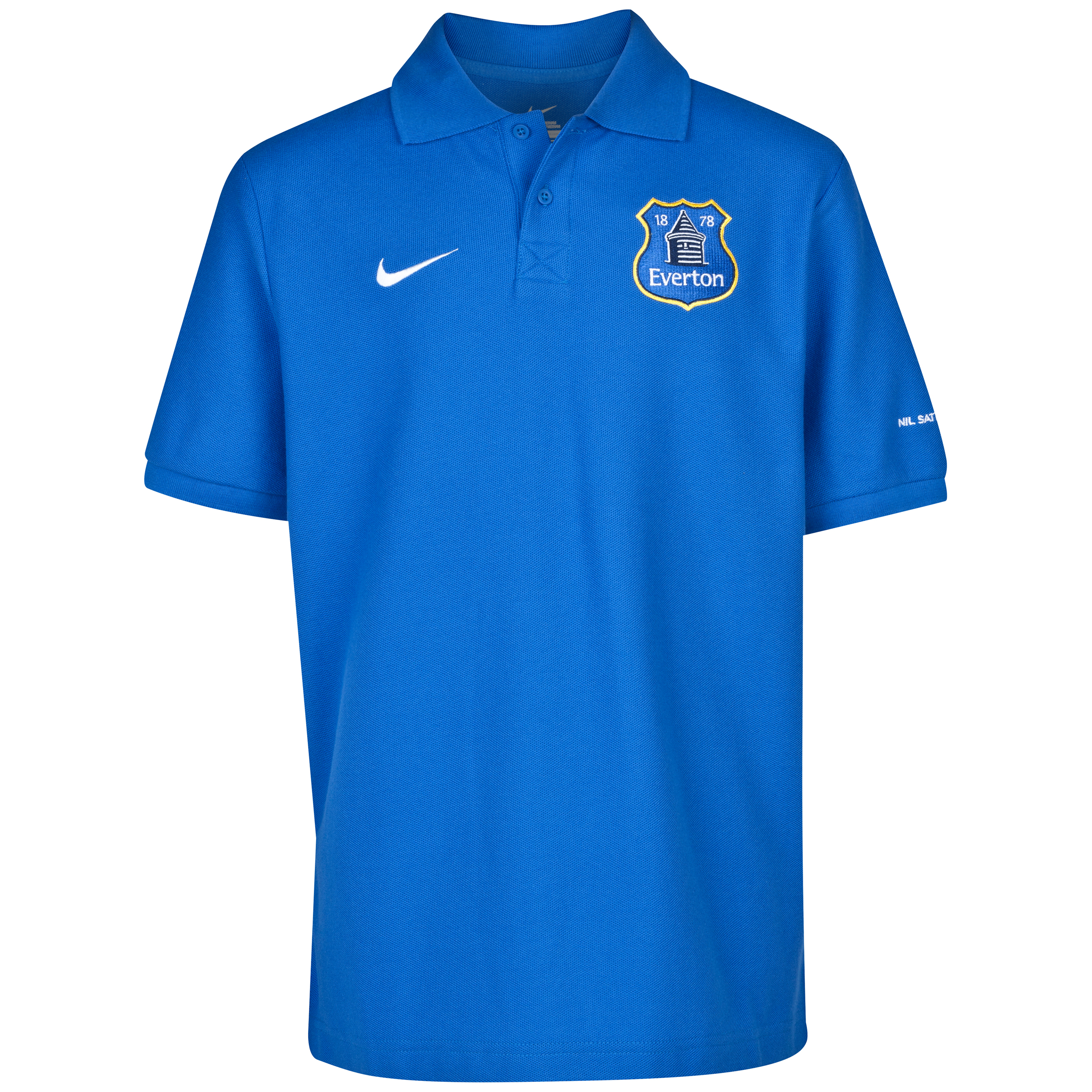 Everton Core Polo Shirt - Junior Blue