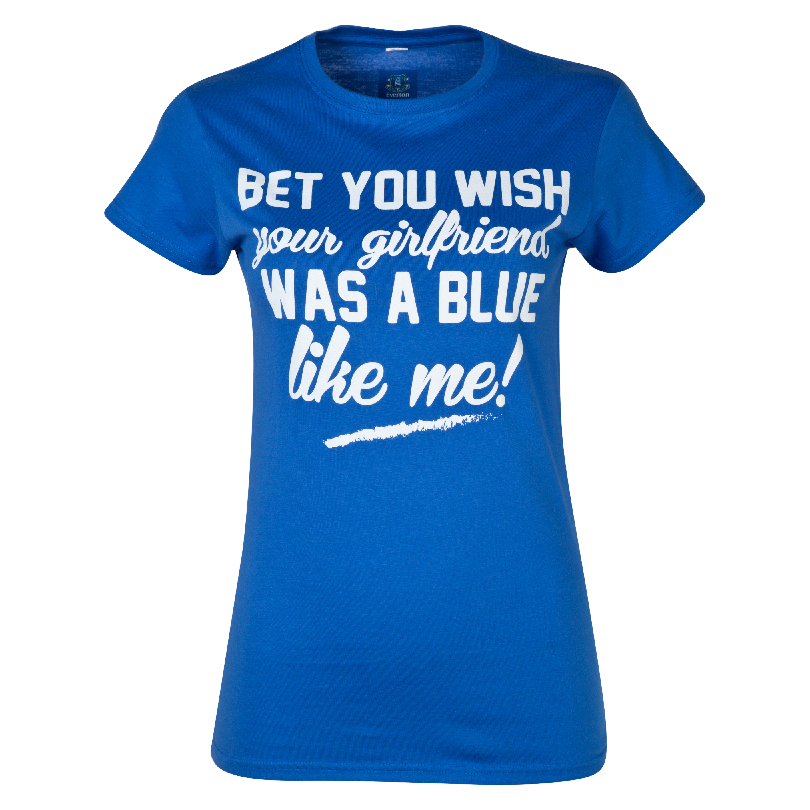 Everton 2for20 You Wish T-Shirt - Womens Blue
