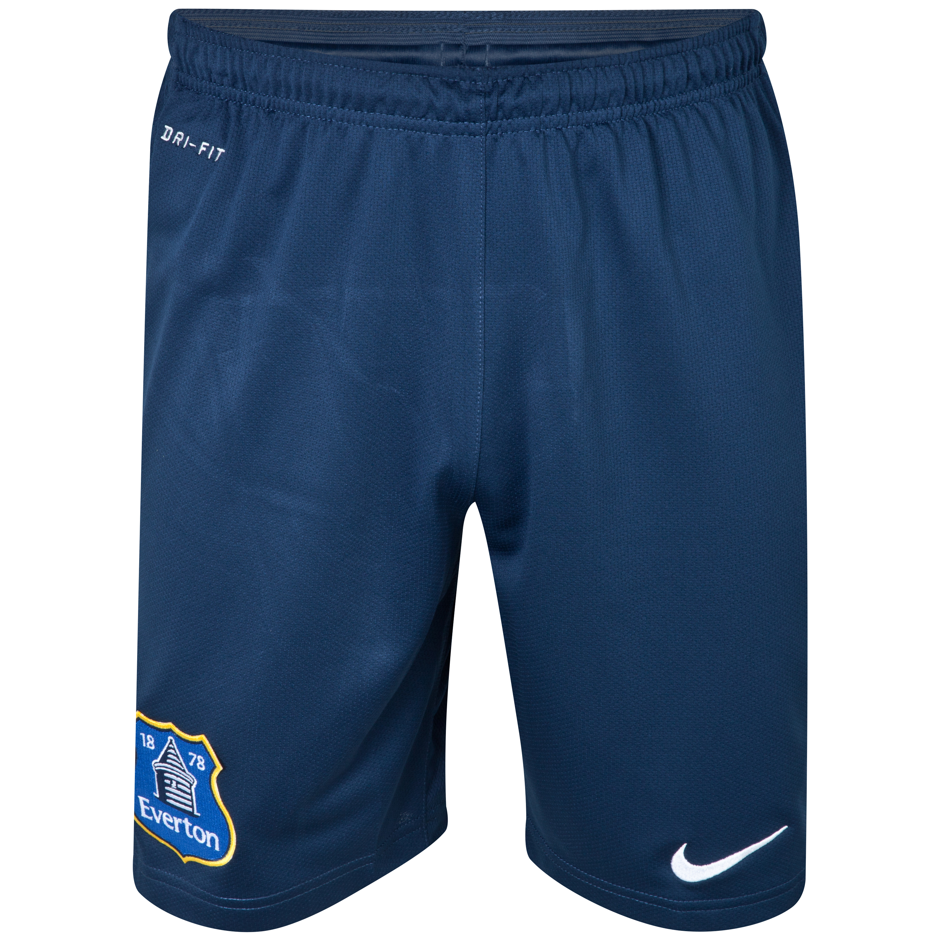 Everton Longer Knit Short Navy