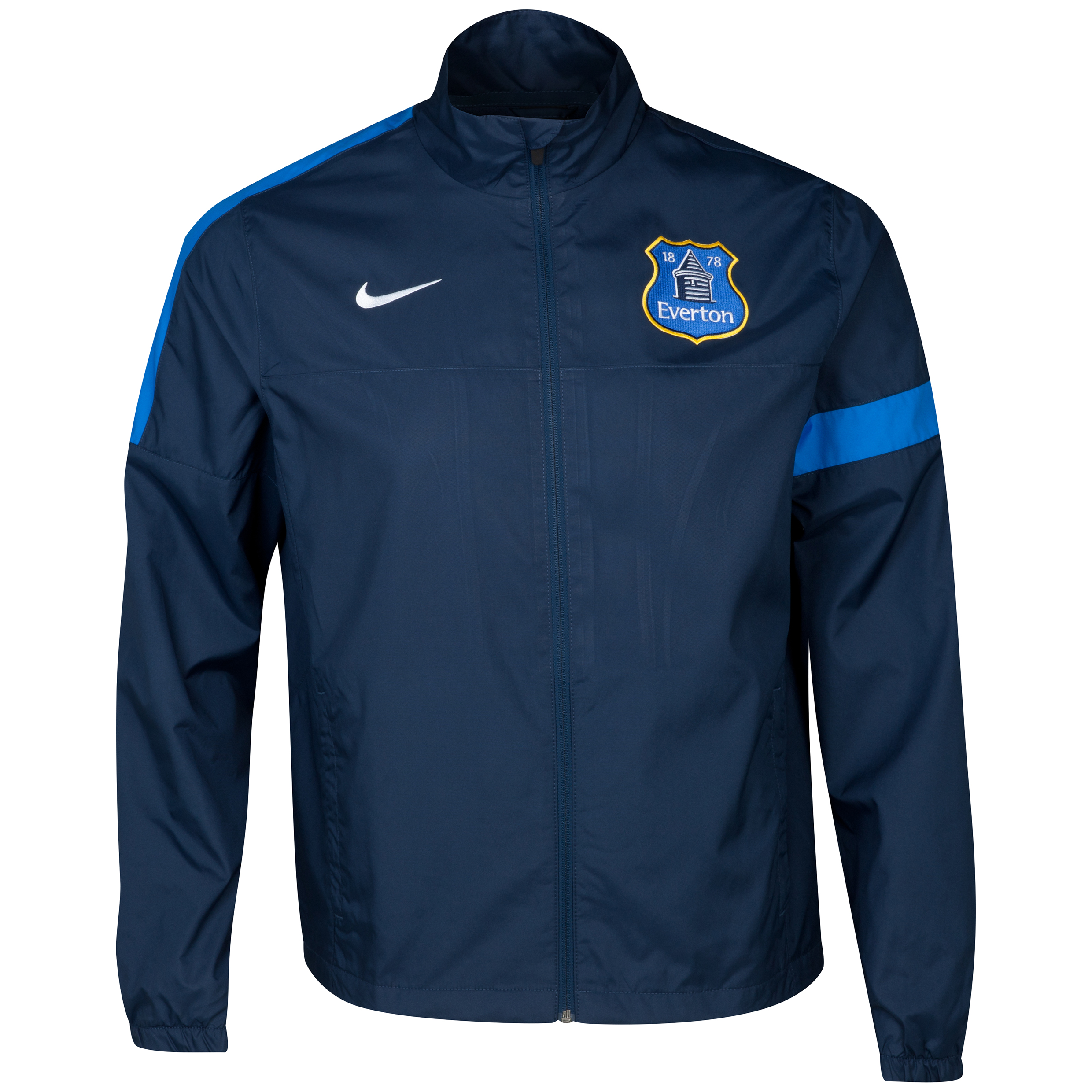 Everton Sideline Track Jacket - Junior Navy