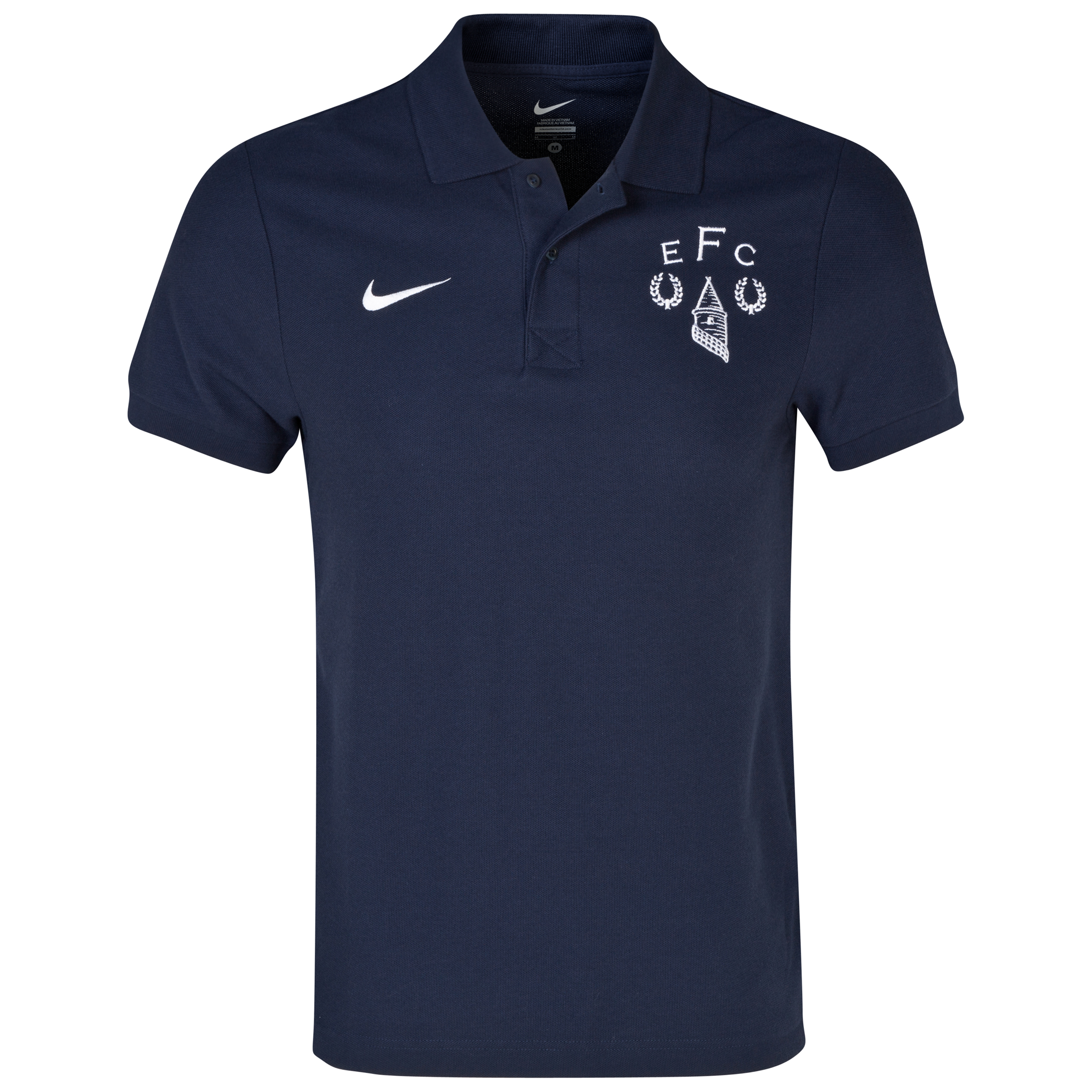 Everton Heritage Polo Shirt Navy