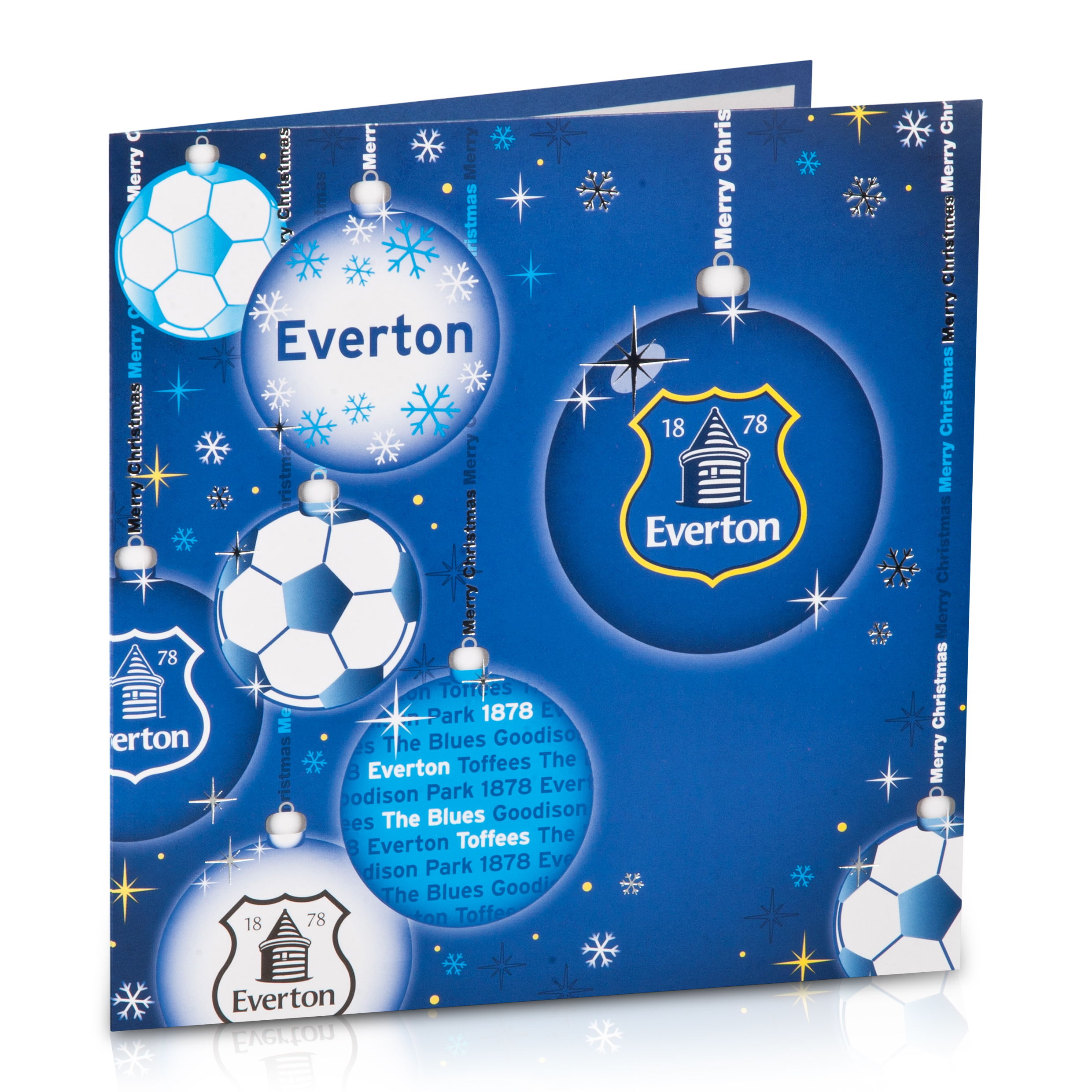 Everton Christmas Card