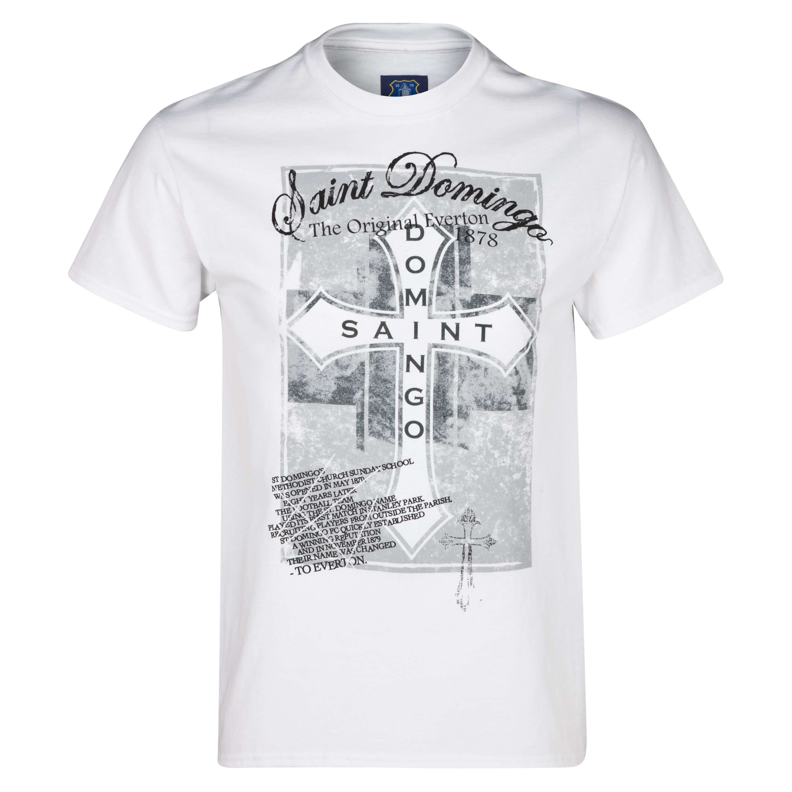 Everton Saint Domingo T-Shirt White