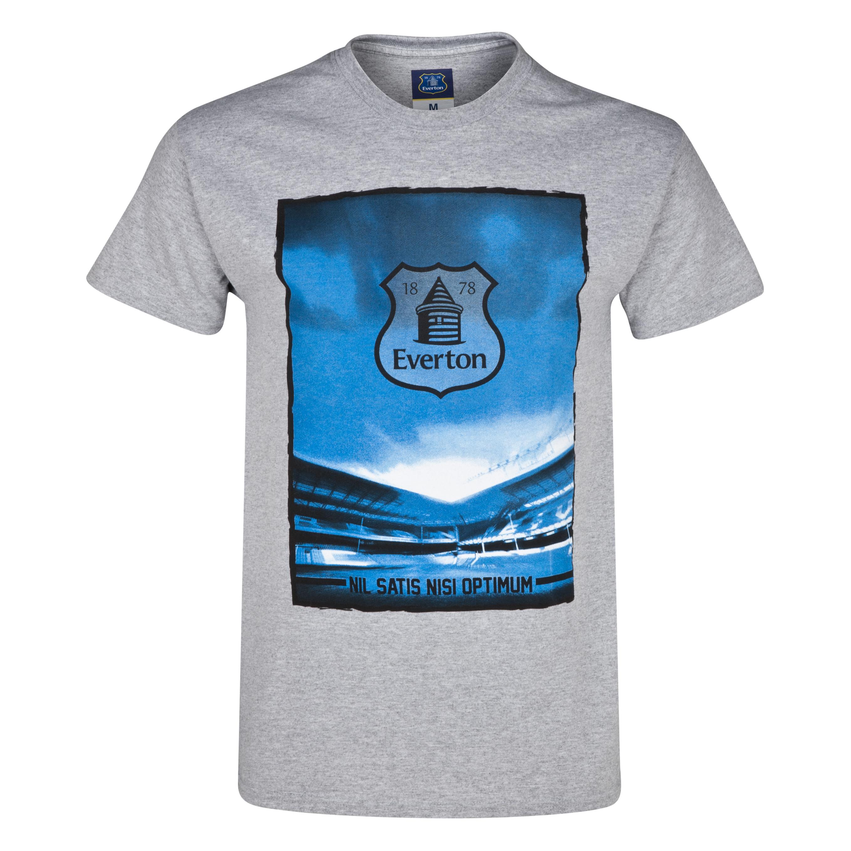 Everton 2for20 Stadium T-Shirt Lt Grey